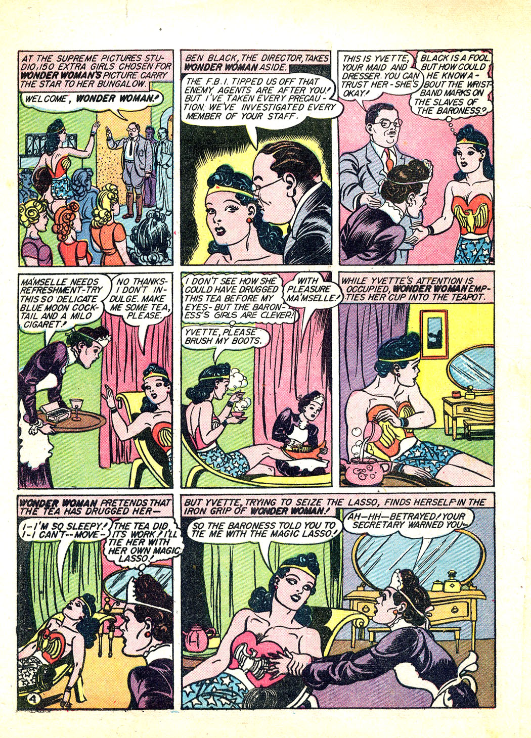 Read online Sensation (Mystery) Comics comic -  Issue #12 - 6