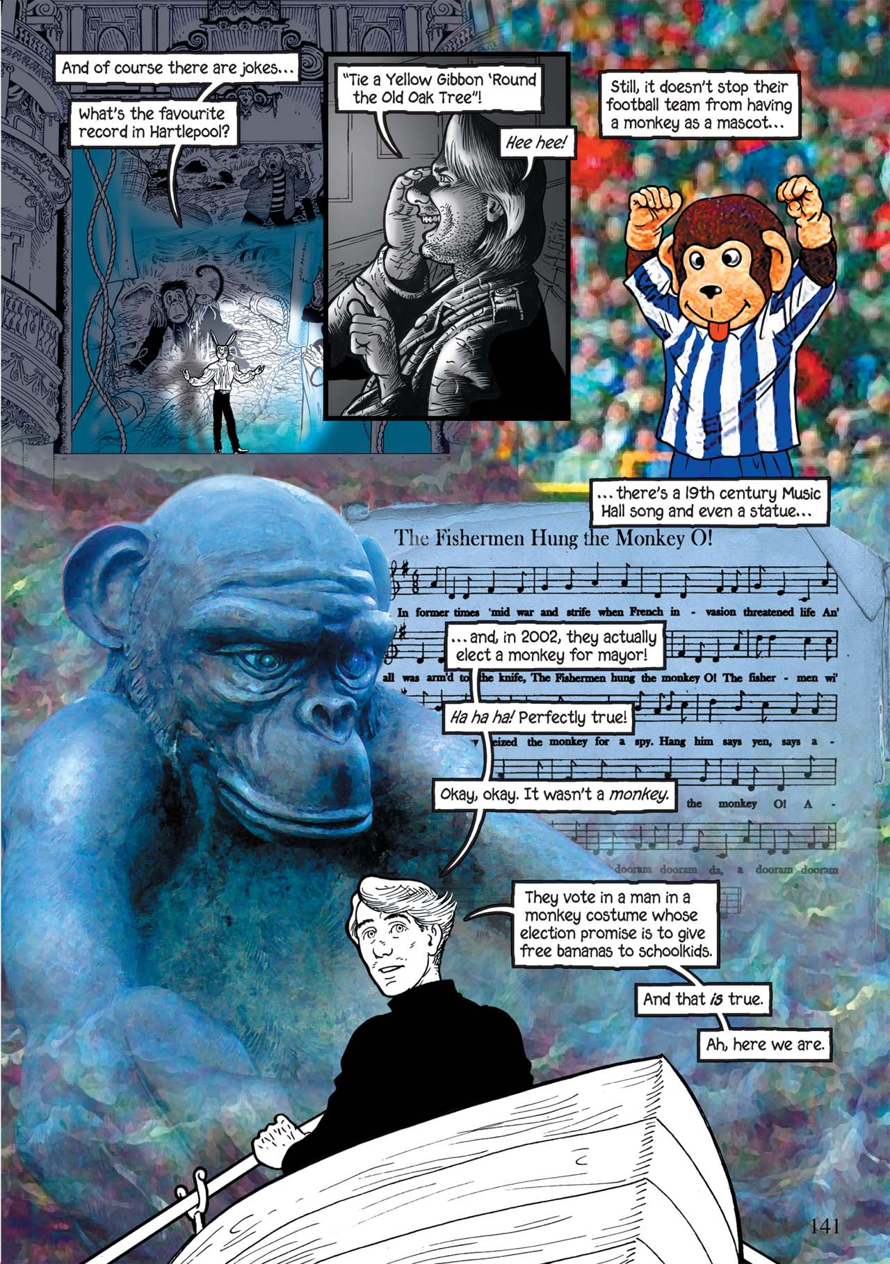 Read online Alice in Sunderland comic -  Issue # Full - 145