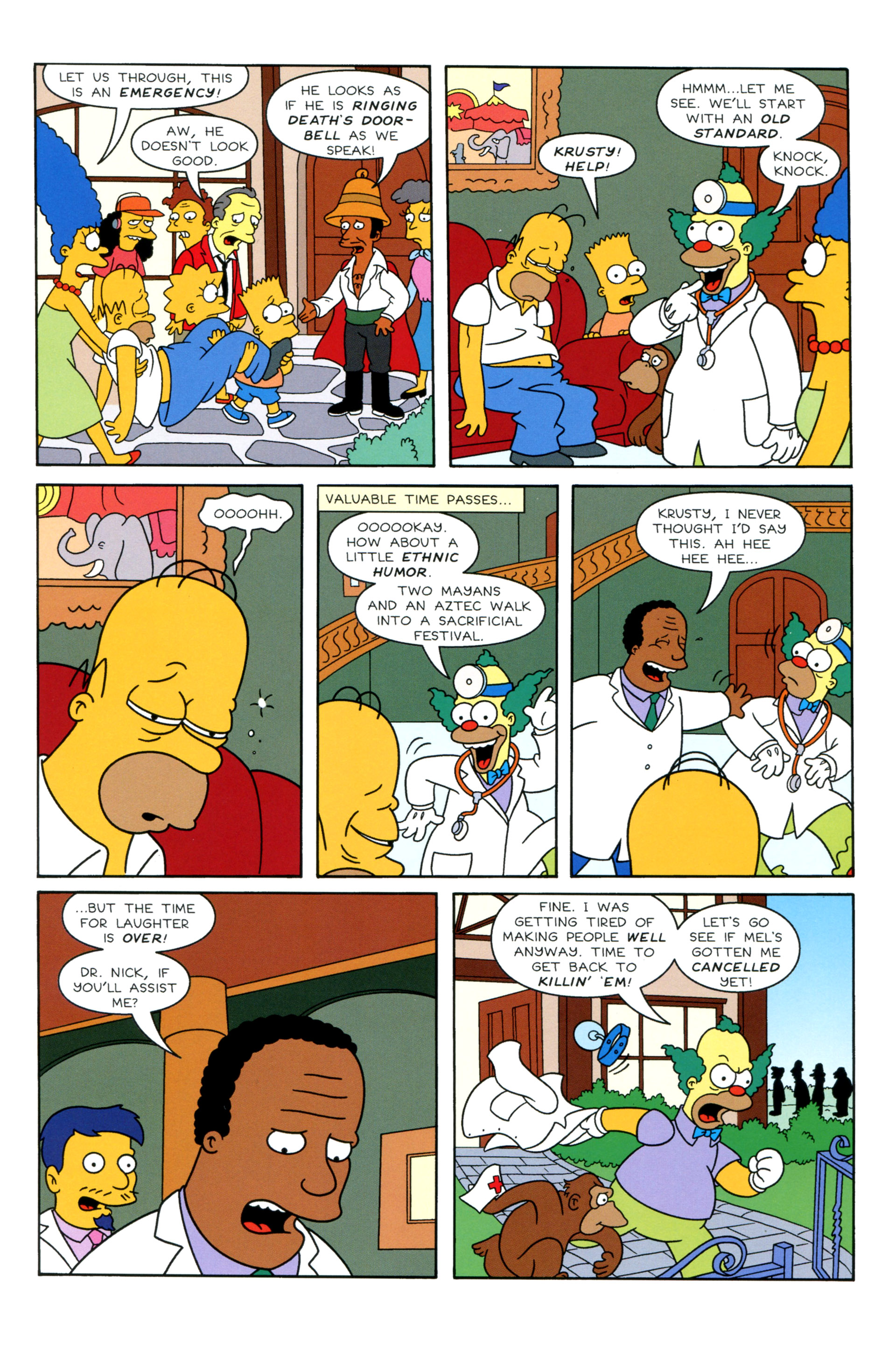 Read online Simpsons Illustrated (2012) comic -  Issue #8 - 22
