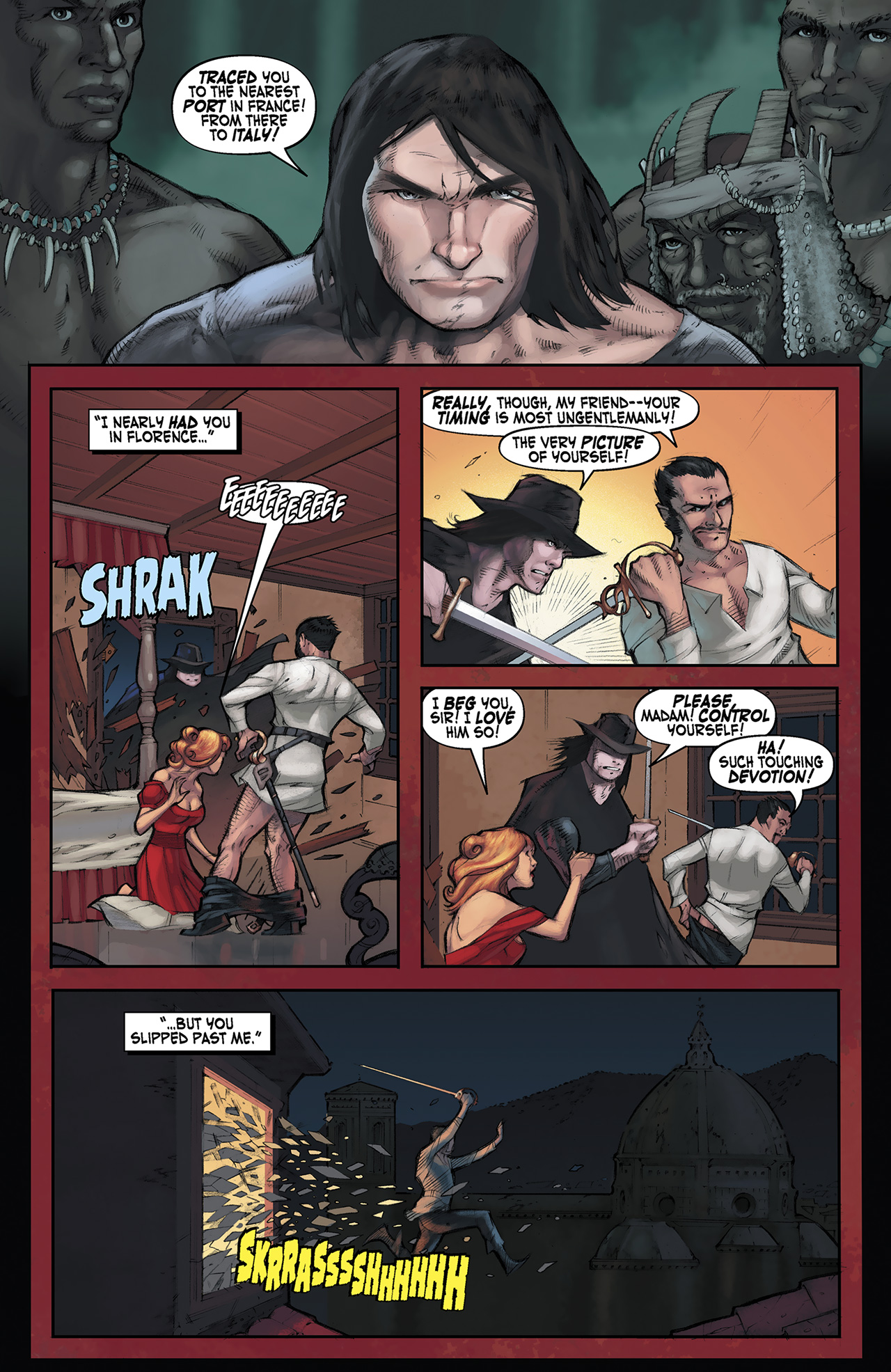 Read online Solomon Kane: Red Shadows comic -  Issue #3 - 14