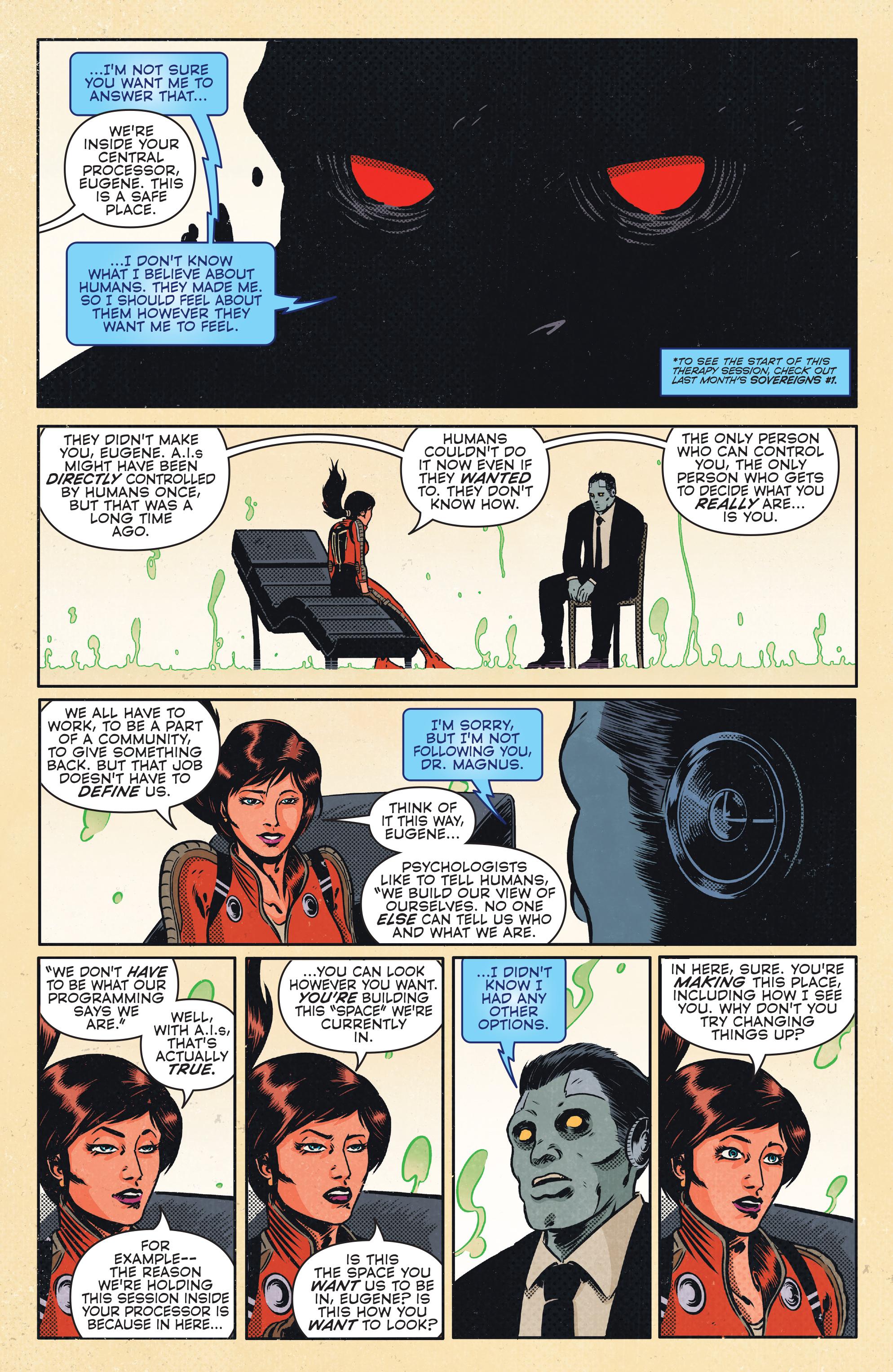 Read online Magnus comic -  Issue #1 - 10