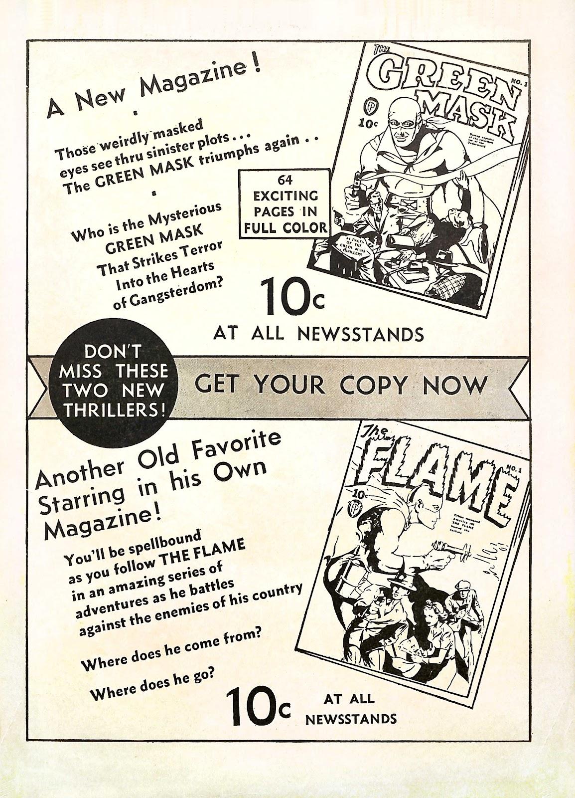 Read online Fantastic Comics comic -  Issue #11 - 68