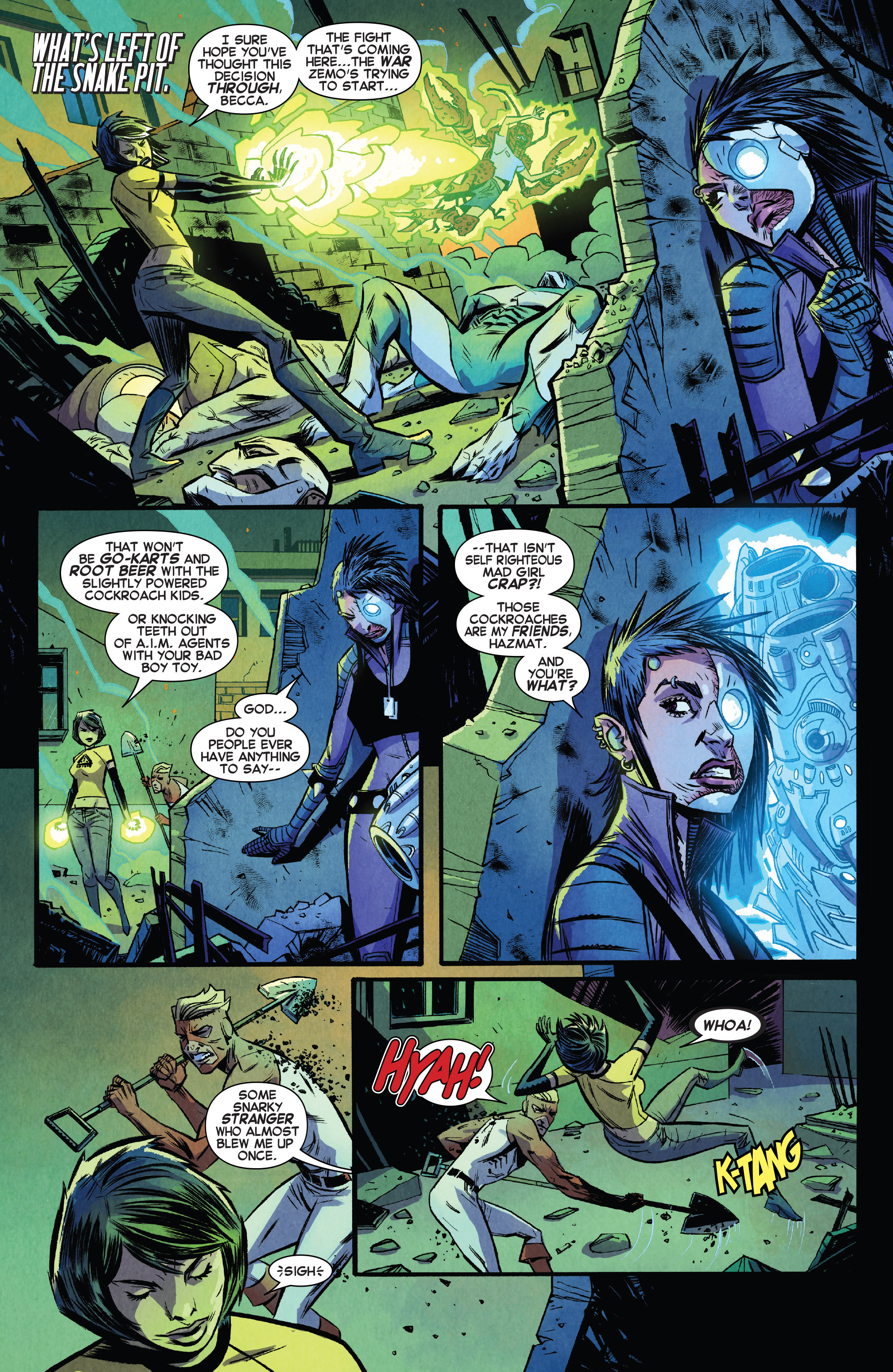 Read online Avengers Undercover comic -  Issue #8 - 16
