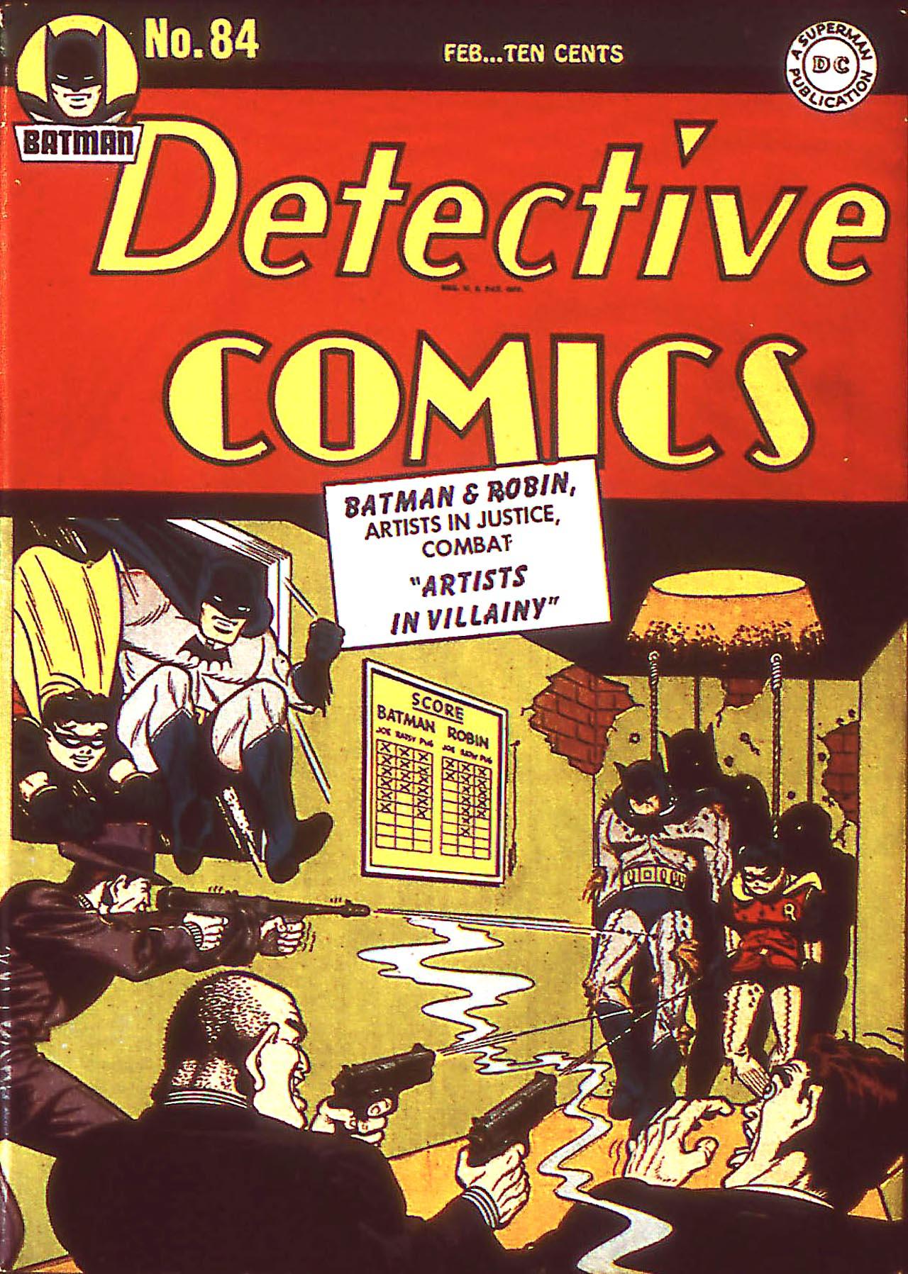 Detective Comics (1937) 84 Page 1