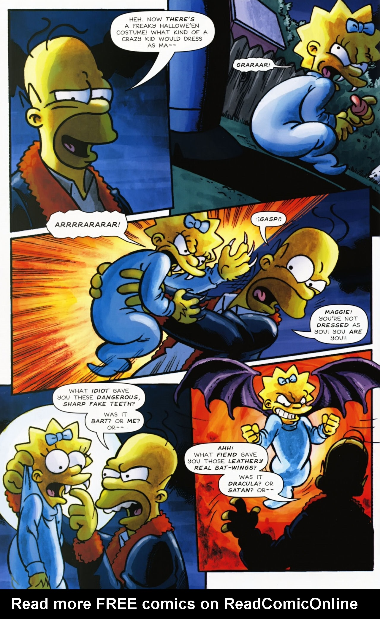 Read online Treehouse of Horror comic -  Issue #16 - 45