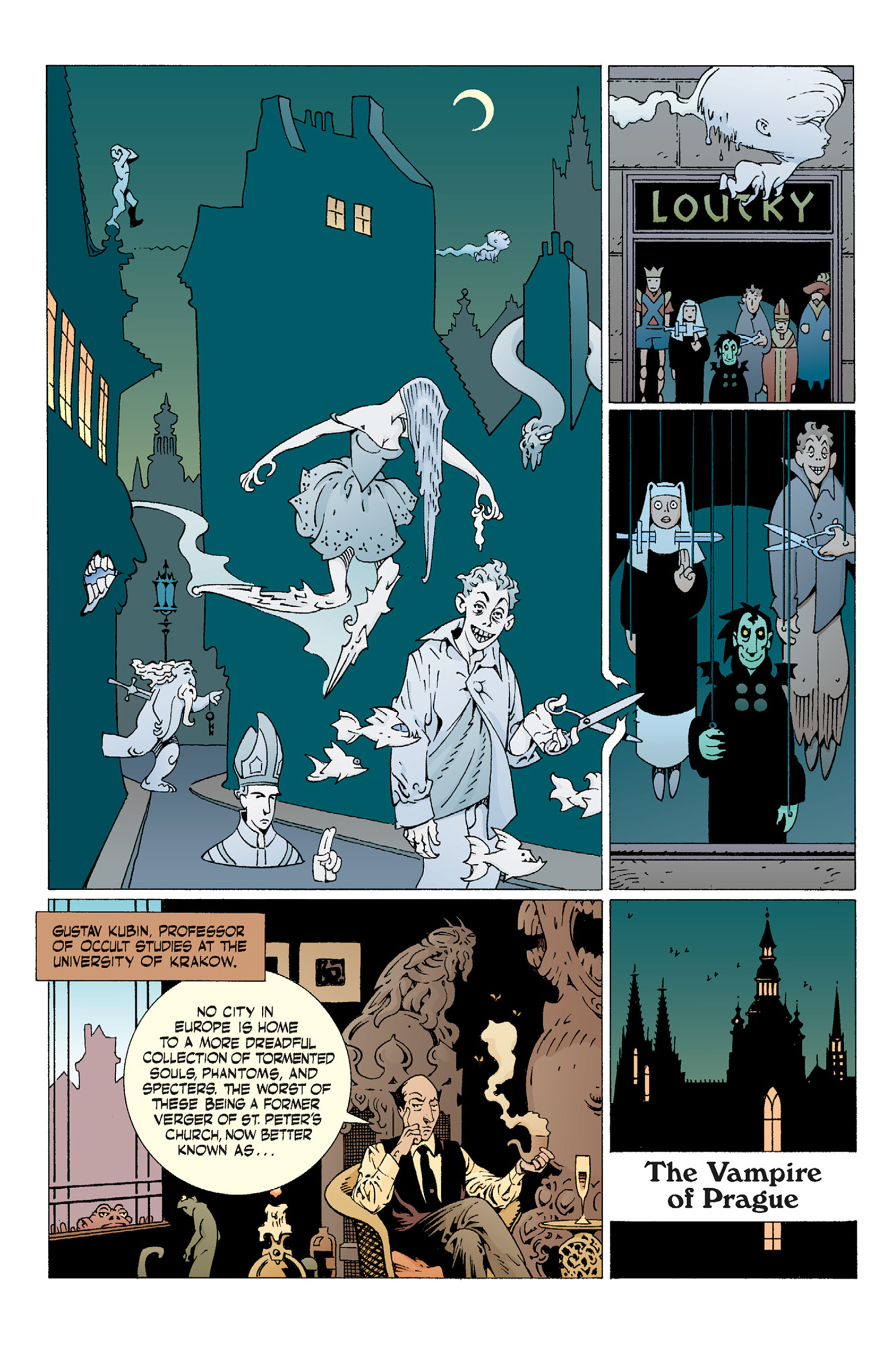 Read online Hellboy: The Troll Witch and Others comic -  Issue # TPB - 38