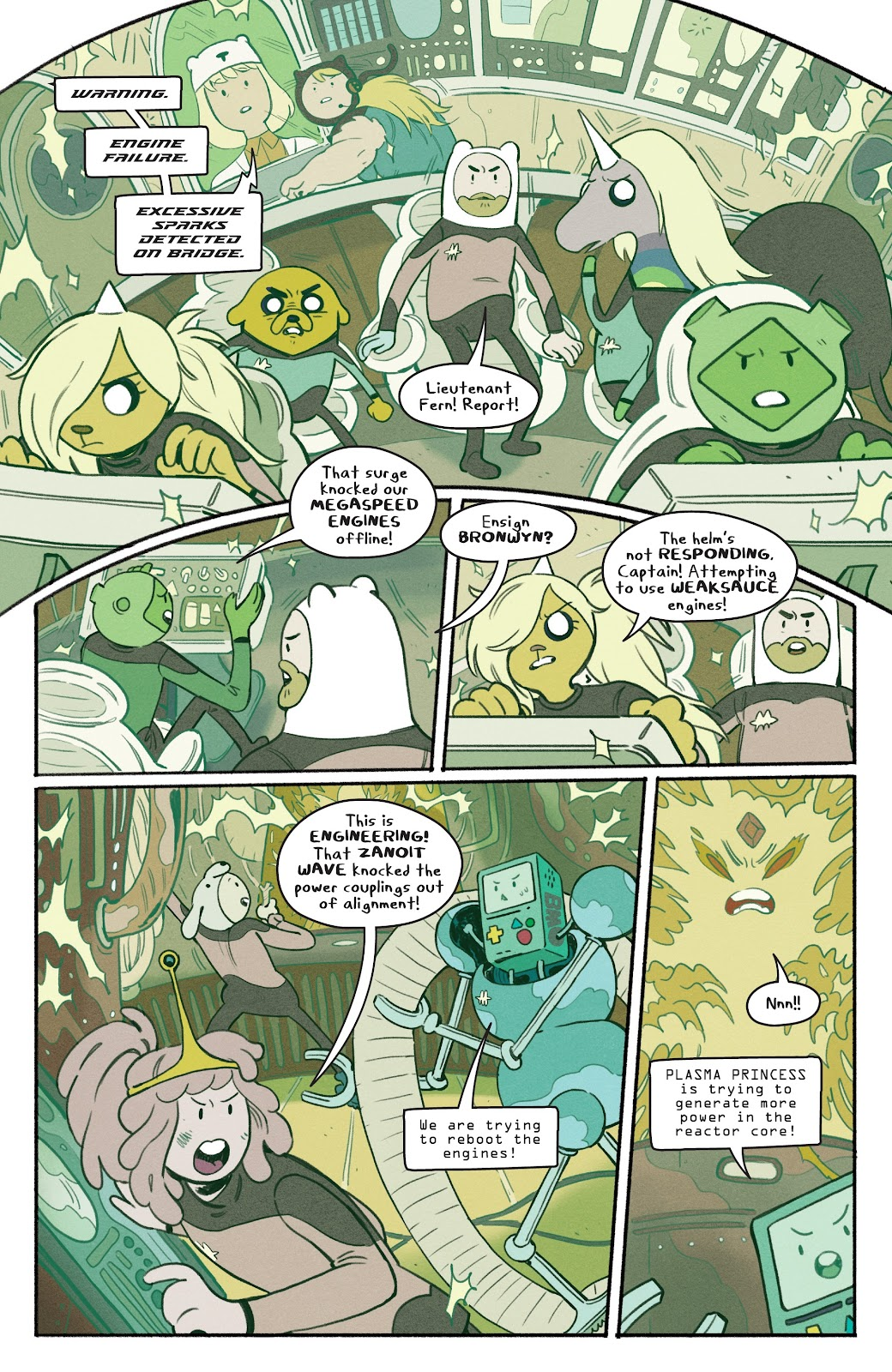 Read online Adventure Time: Beginning of the End comic -  Issue # _TPB - 62