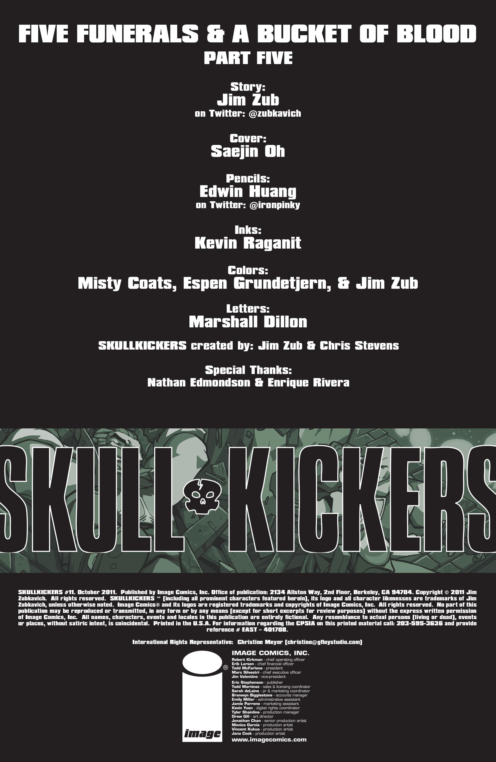 Read online Skullkickers comic -  Issue #11 - 2