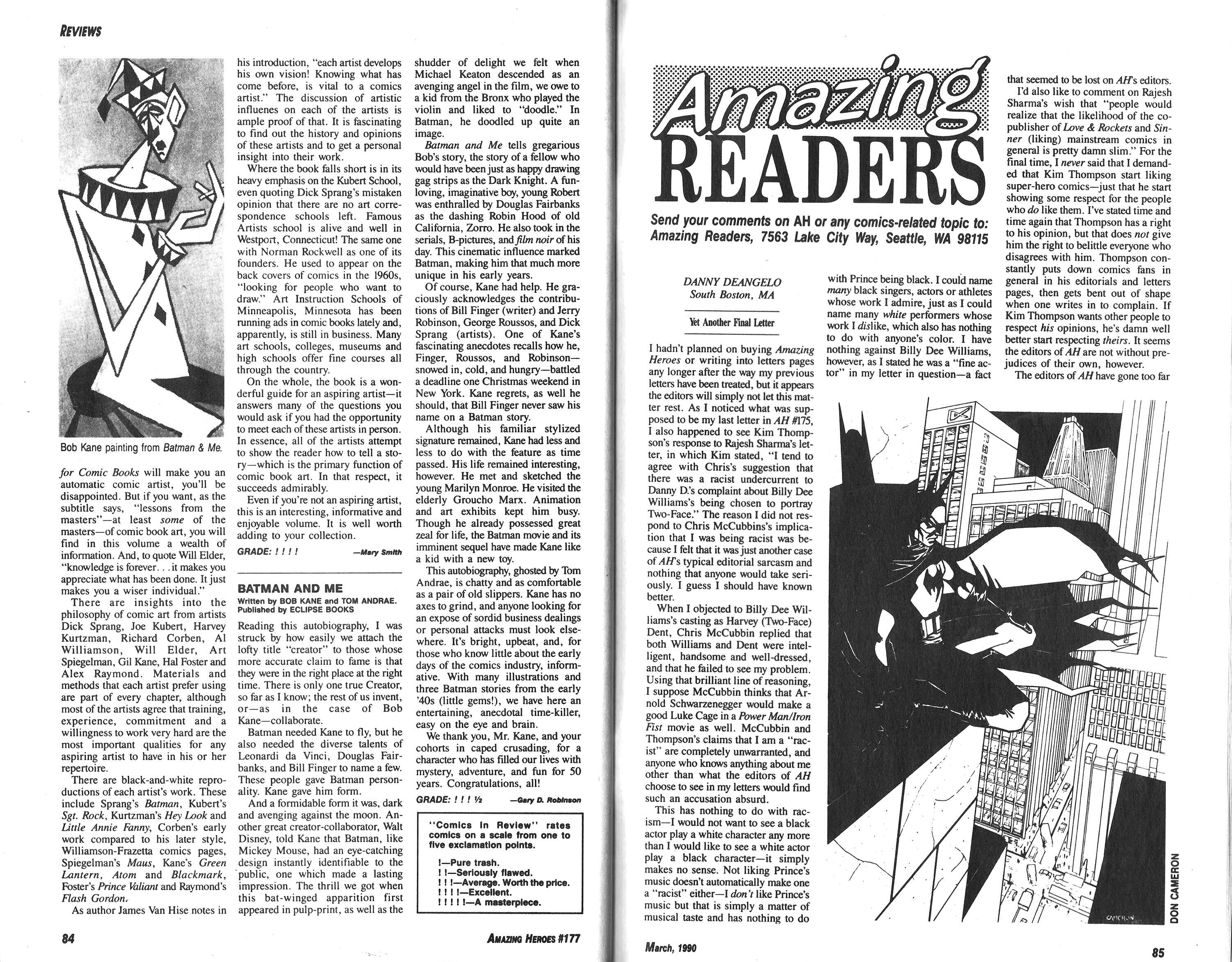 Read online Amazing Heroes comic -  Issue #177 - 43