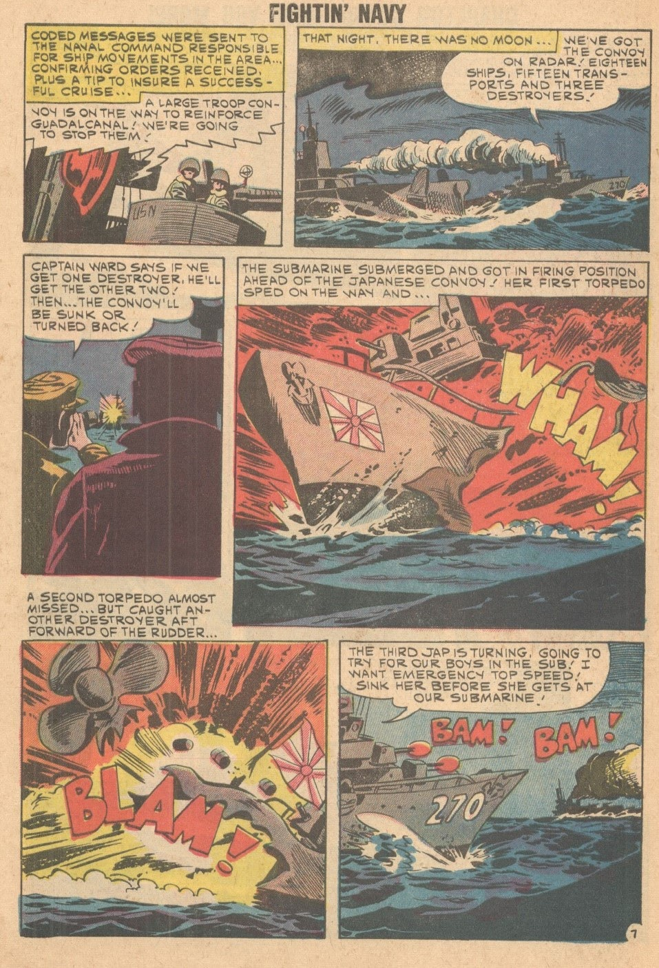 Read online Fightin' Navy comic -  Issue #93 - 10