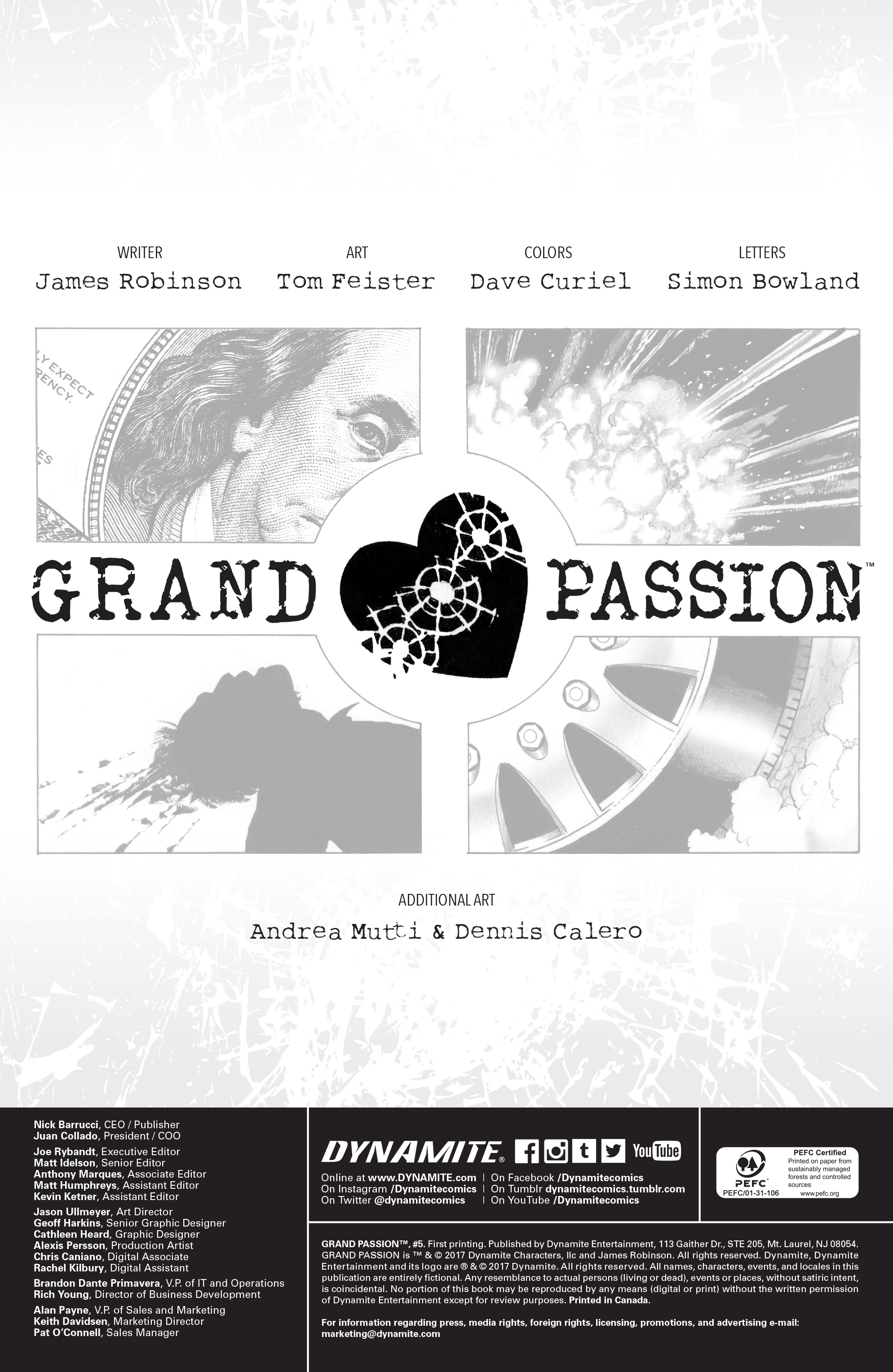 Read online Grand Passion comic -  Issue #5 - 2