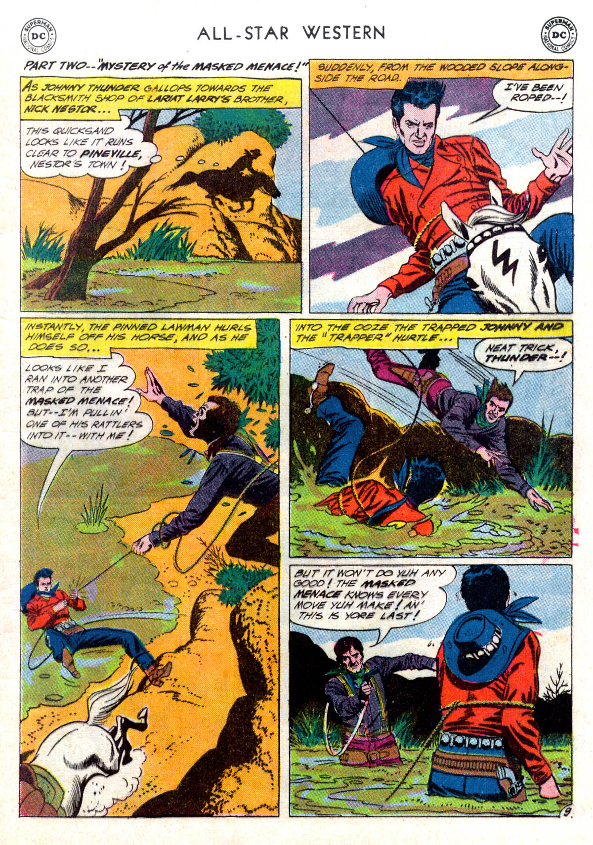 Read online All-Star Western (1951) comic -  Issue #116 - 13