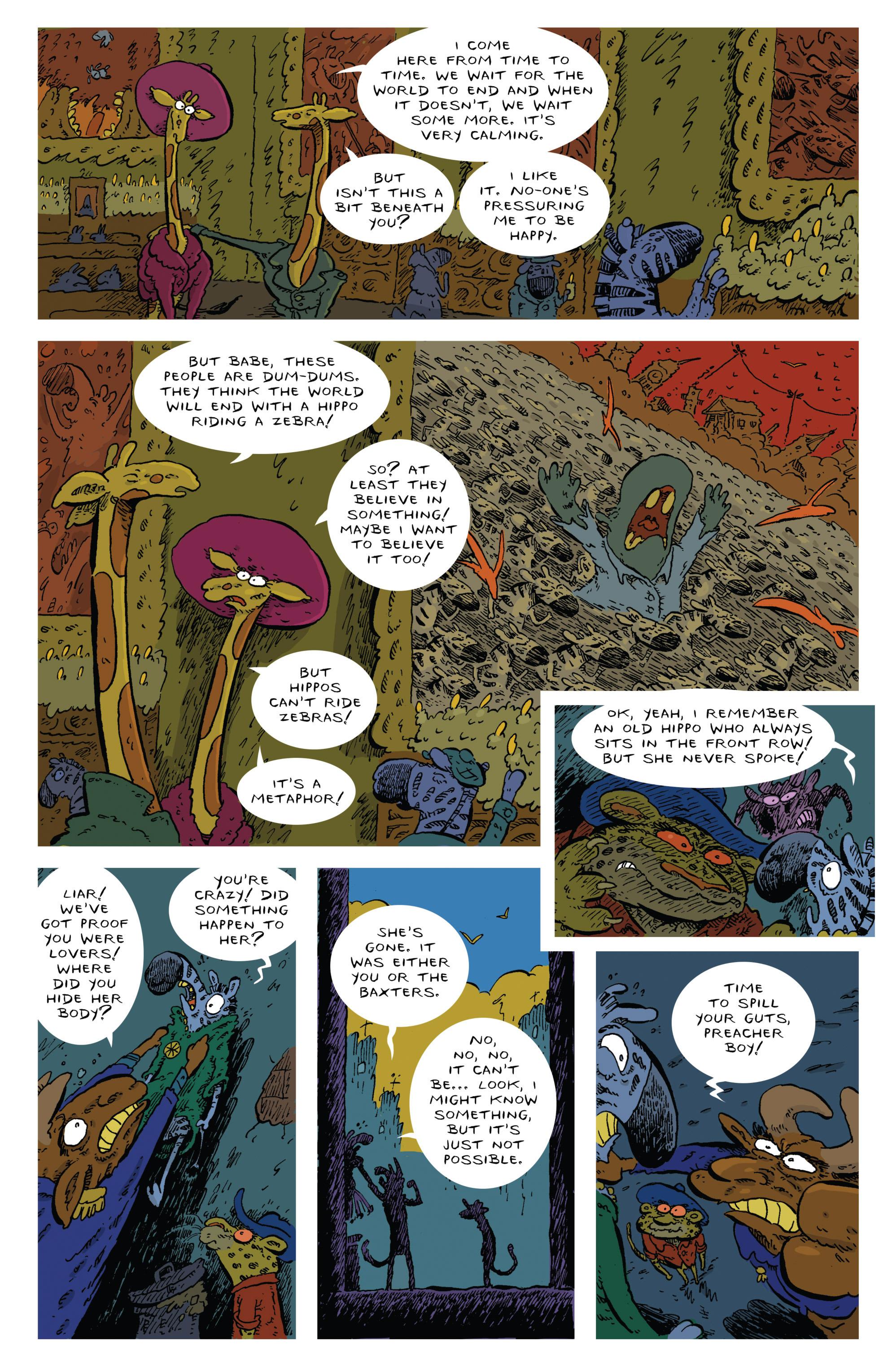 Read online Animal Noir comic -  Issue #4 - 13