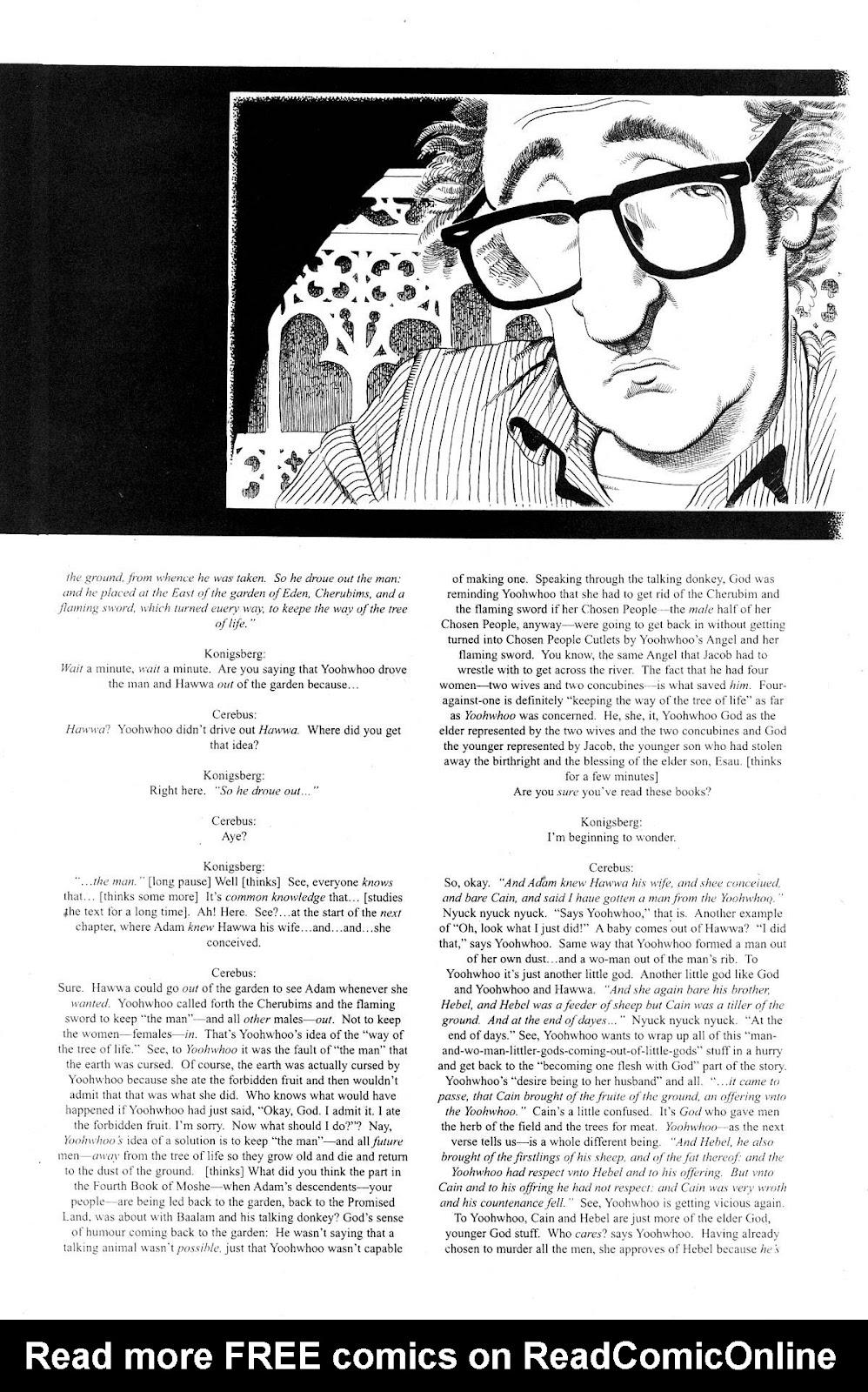 Cerebus Issue #281 #280 - English 13