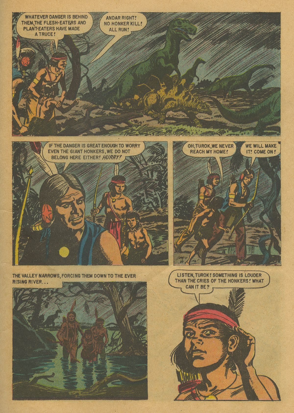 Read online Turok, Son of Stone comic -  Issue #17 - 25