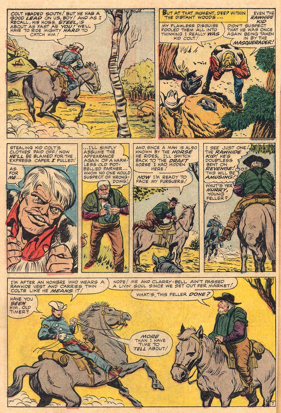The Rawhide Kid (1955) issue 50 - Page 10