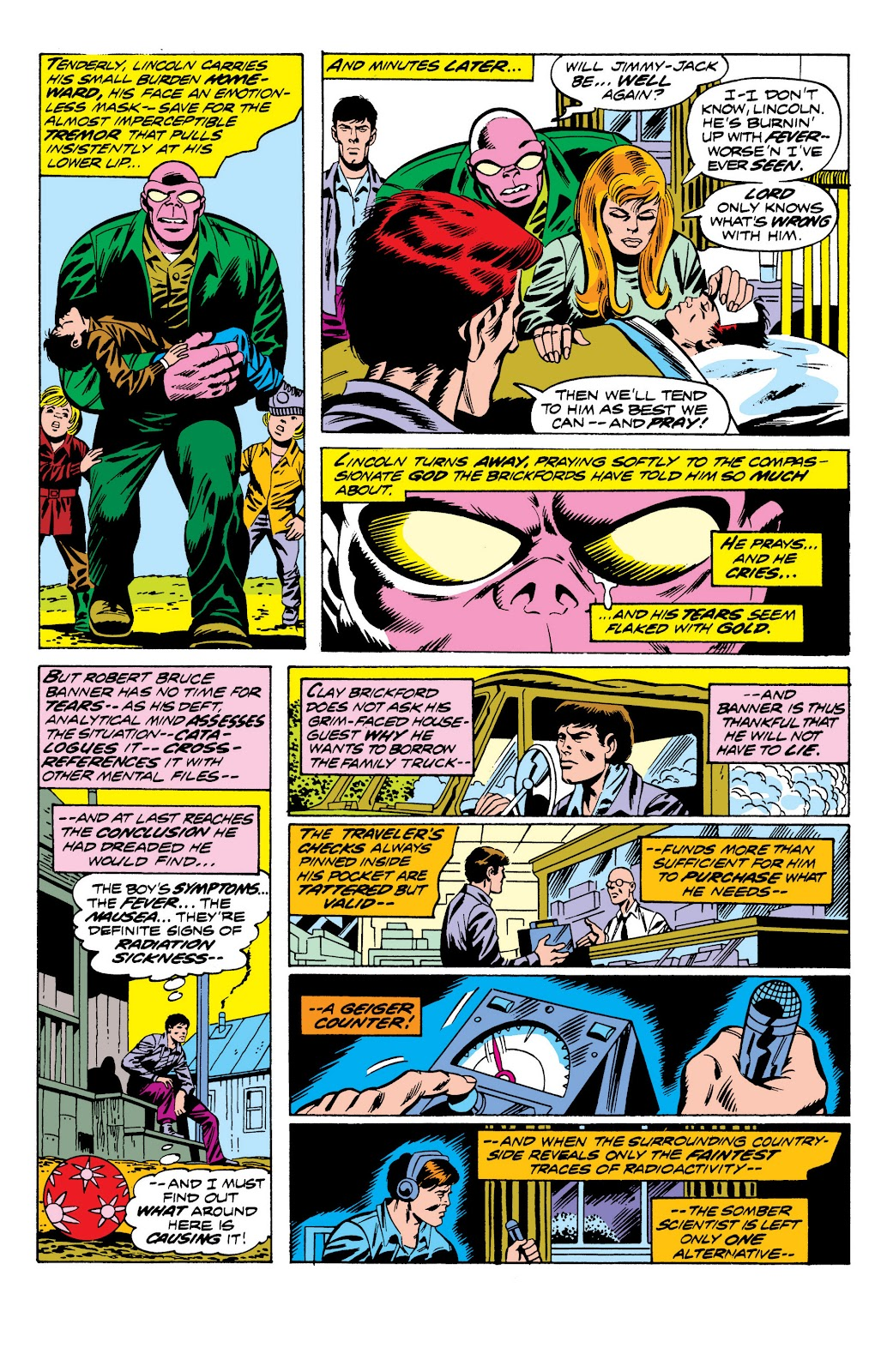 Read online Marvel Masterworks: The Incredible Hulk comic -  Issue # TPB 10 (Part 2) - 74