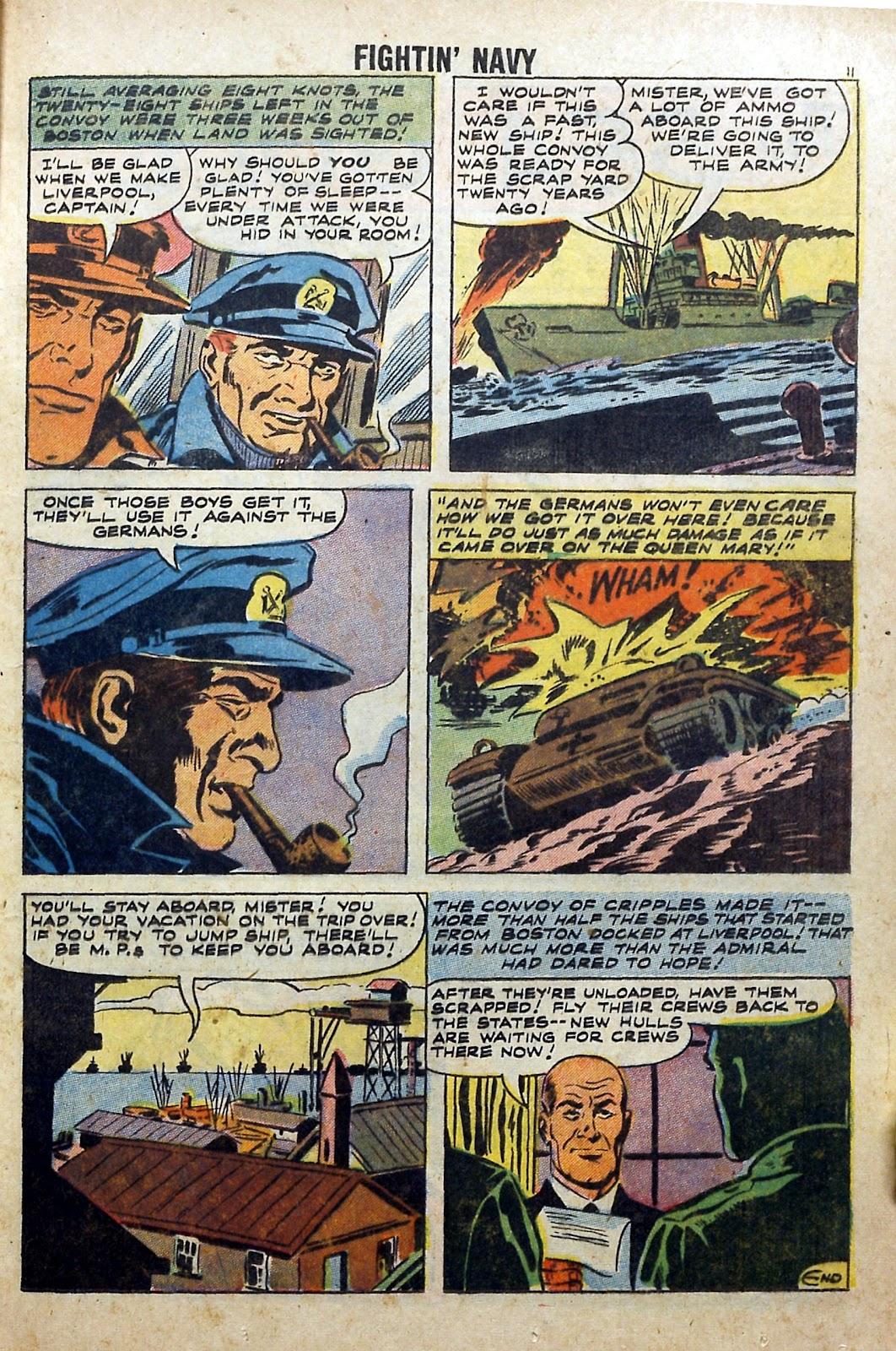 Read online Fightin' Navy comic -  Issue #84 - 13