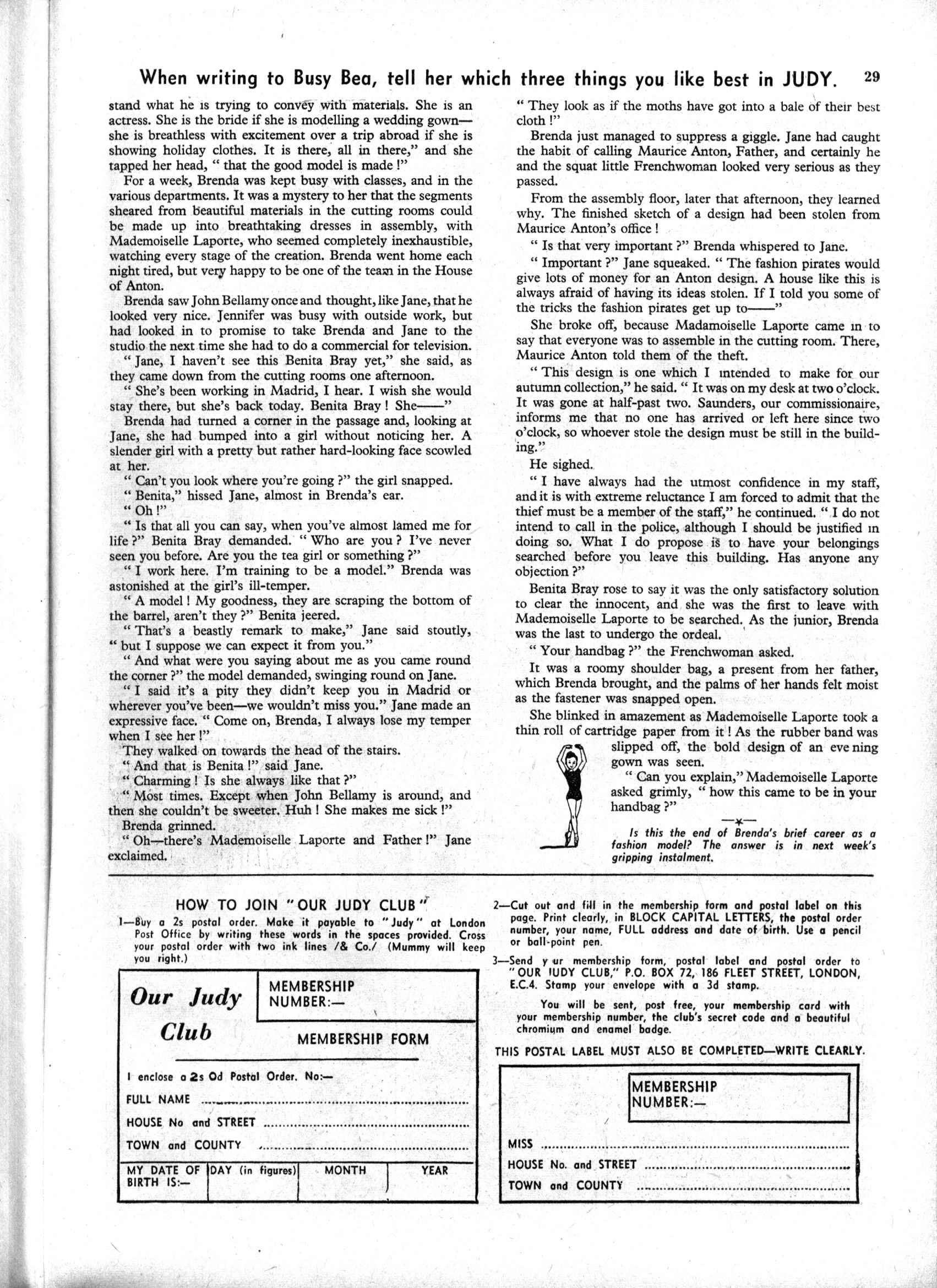 Read online Judy comic -  Issue #189 - 29