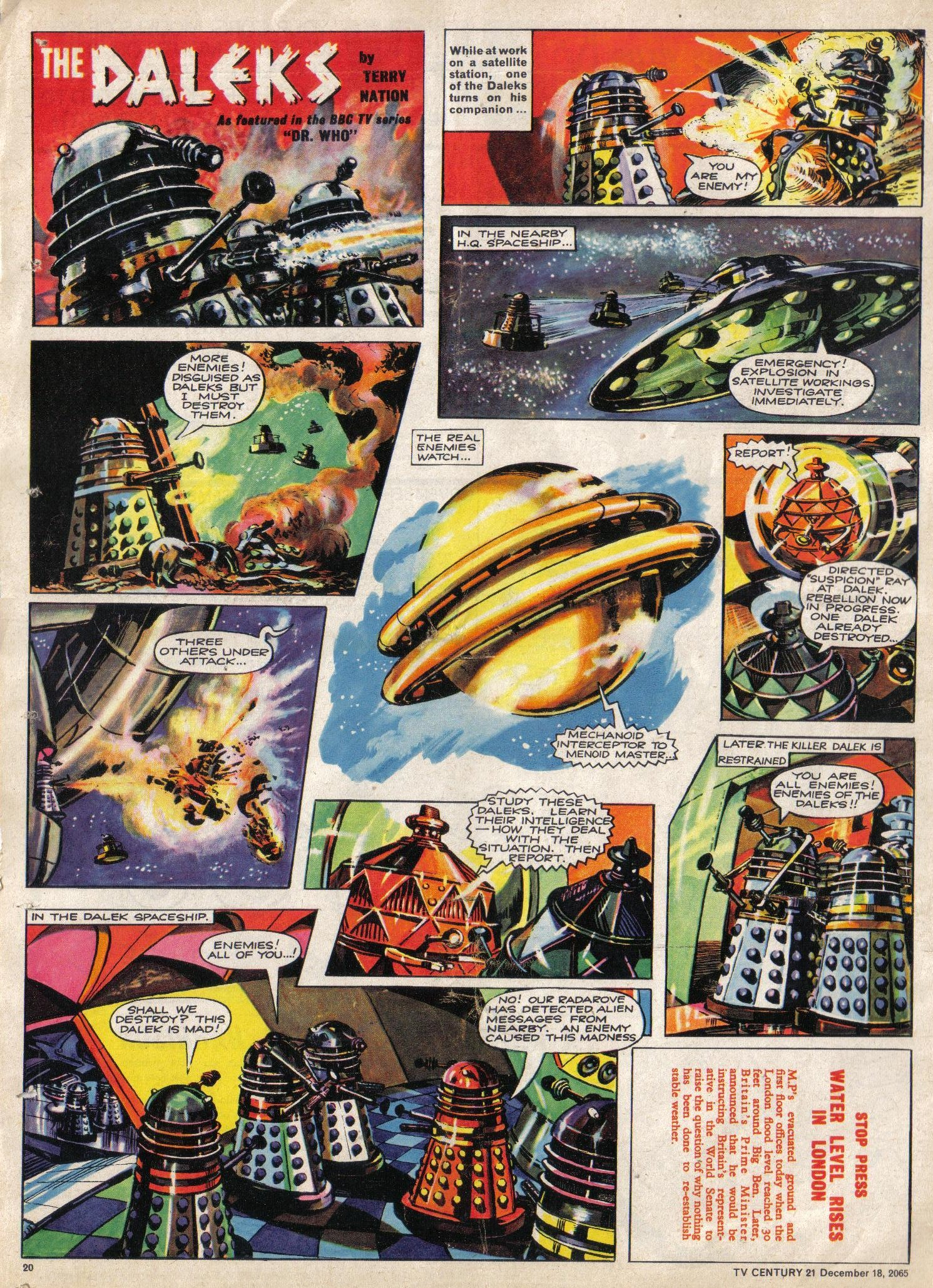 Read online TV Century 21 (TV 21) comic -  Issue #48 - 19