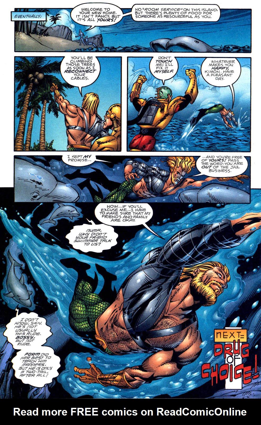 Read online Aquaman (1994) comic -  Issue #58 - 22