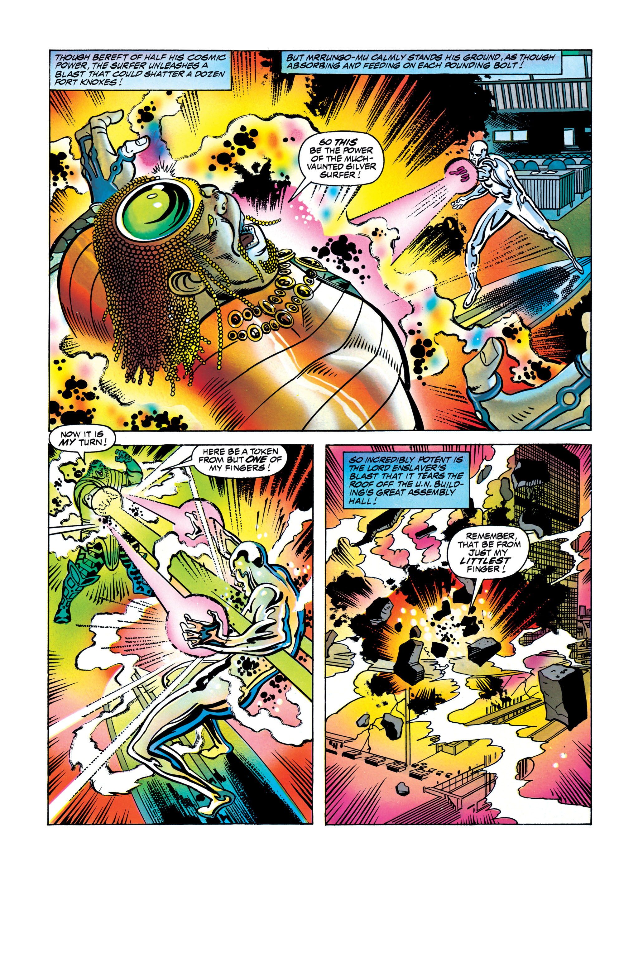 Read online Silver Surfer: Parable comic -  Issue # TPB - 114