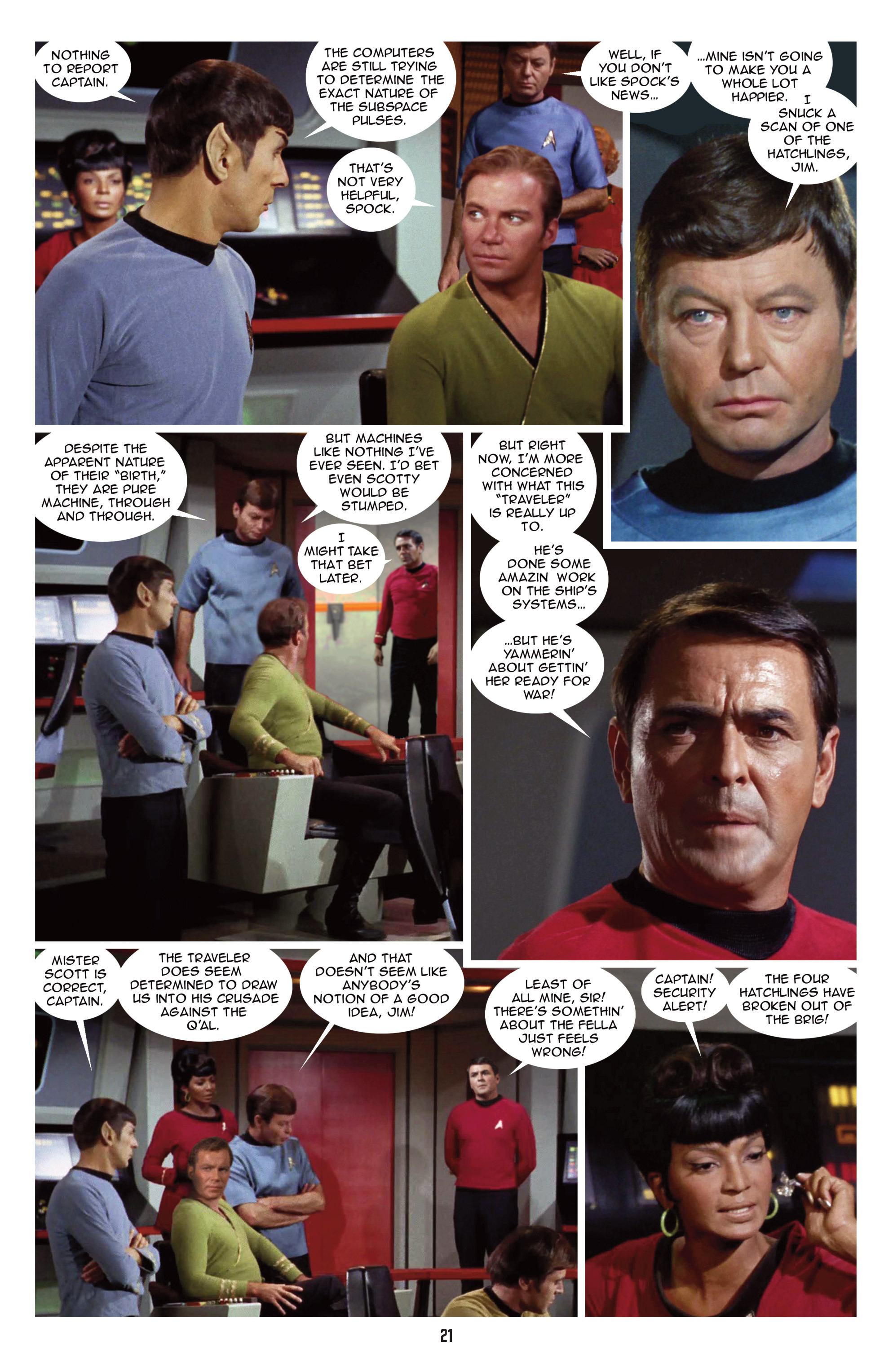 Read online Star Trek: New Visions comic -  Issue #15 - 23