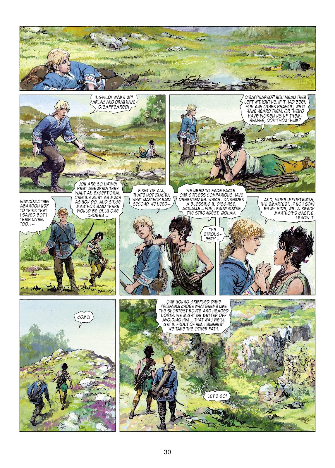 Read online Thorgal comic -  Issue #22 - 32