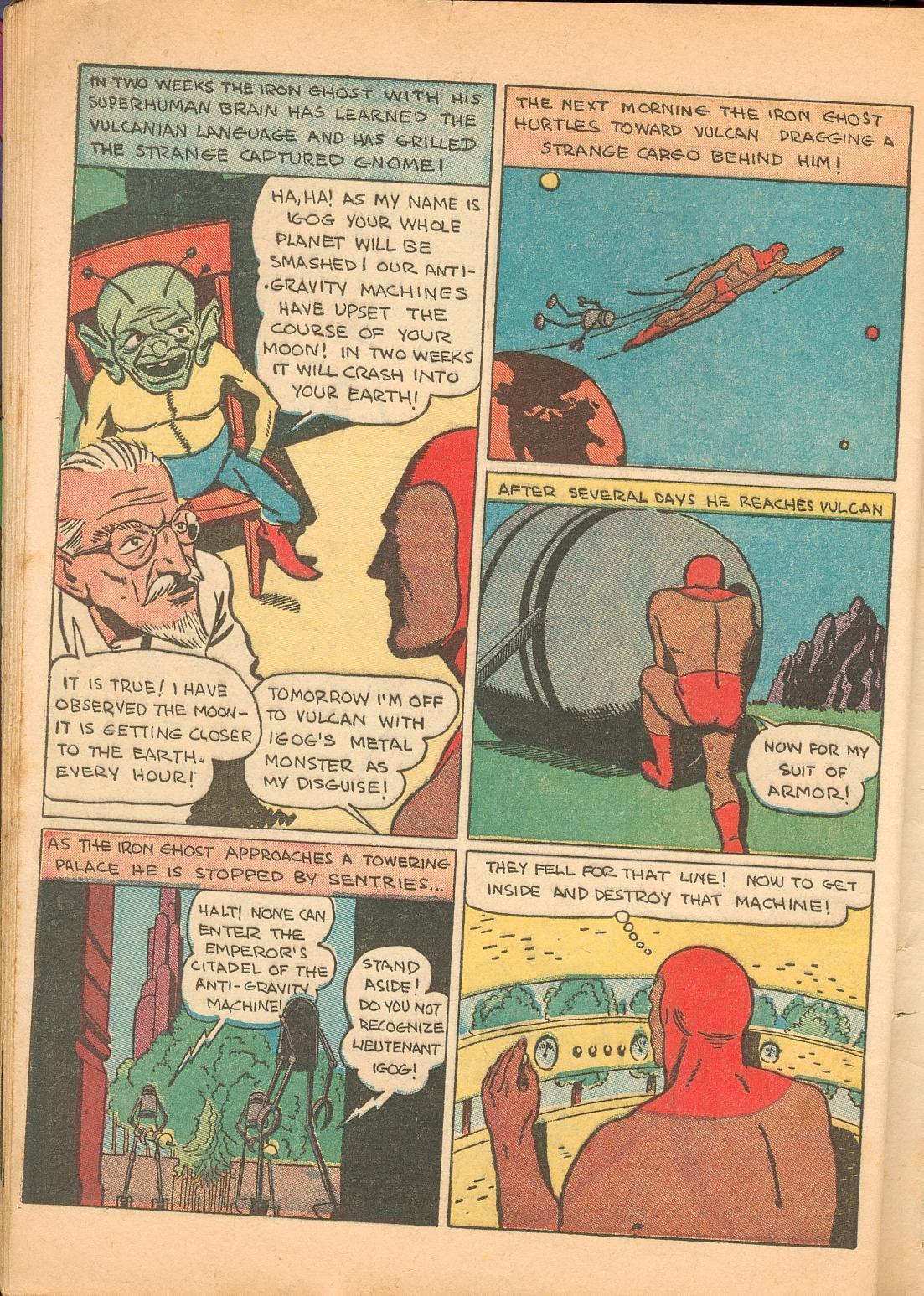 Read online Shadow Comics comic -  Issue #11 - 62