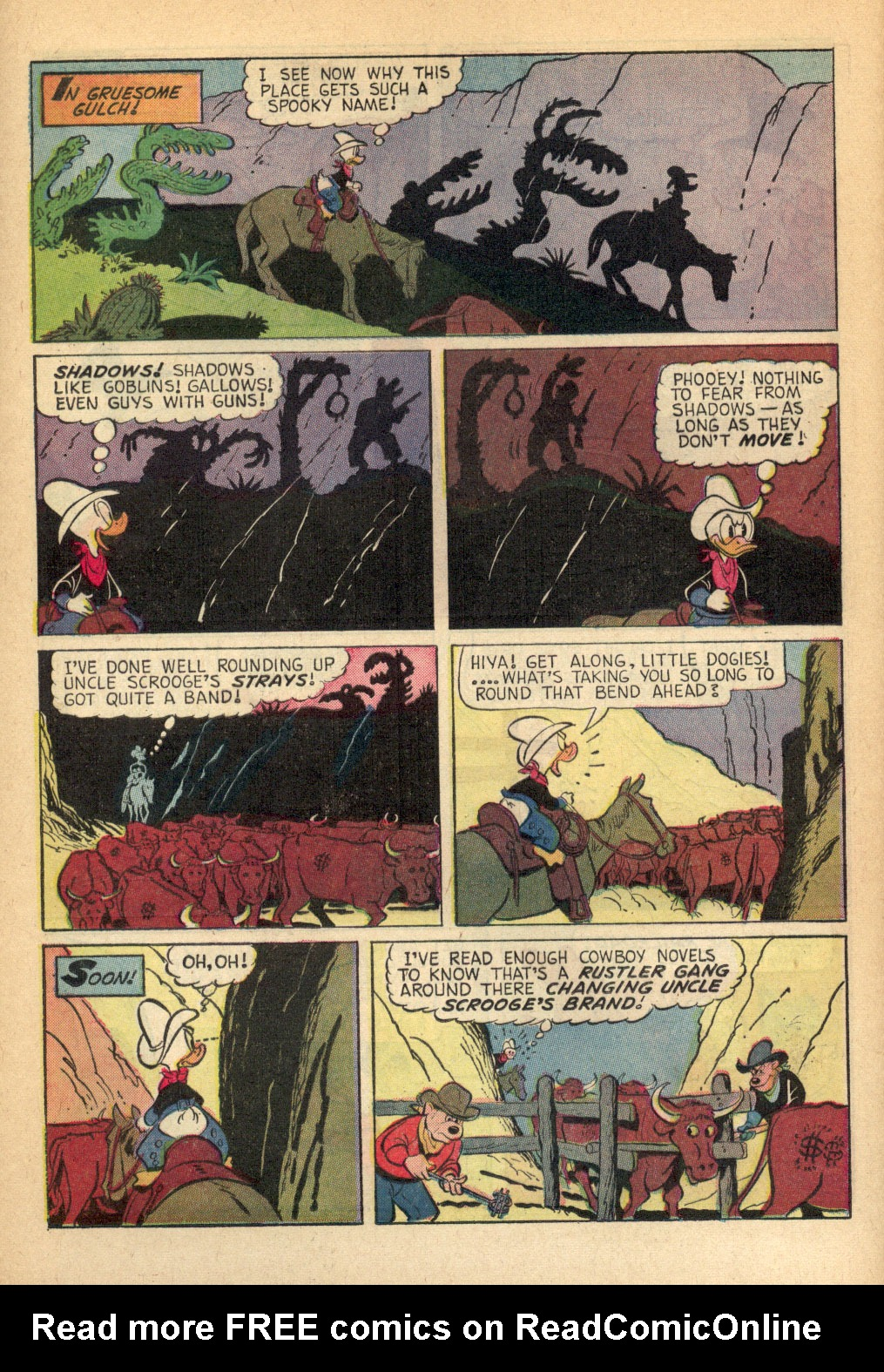 Read online Uncle Scrooge (1953) comic -  Issue #69 - 12