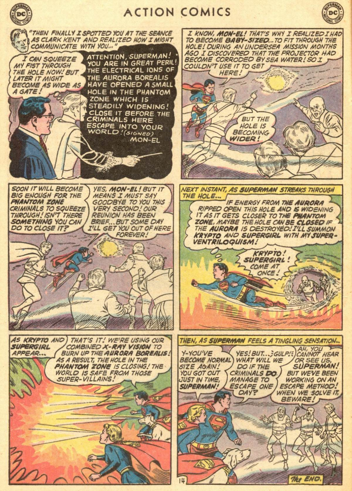 Read online Action Comics (1938) comic -  Issue #284 - 16