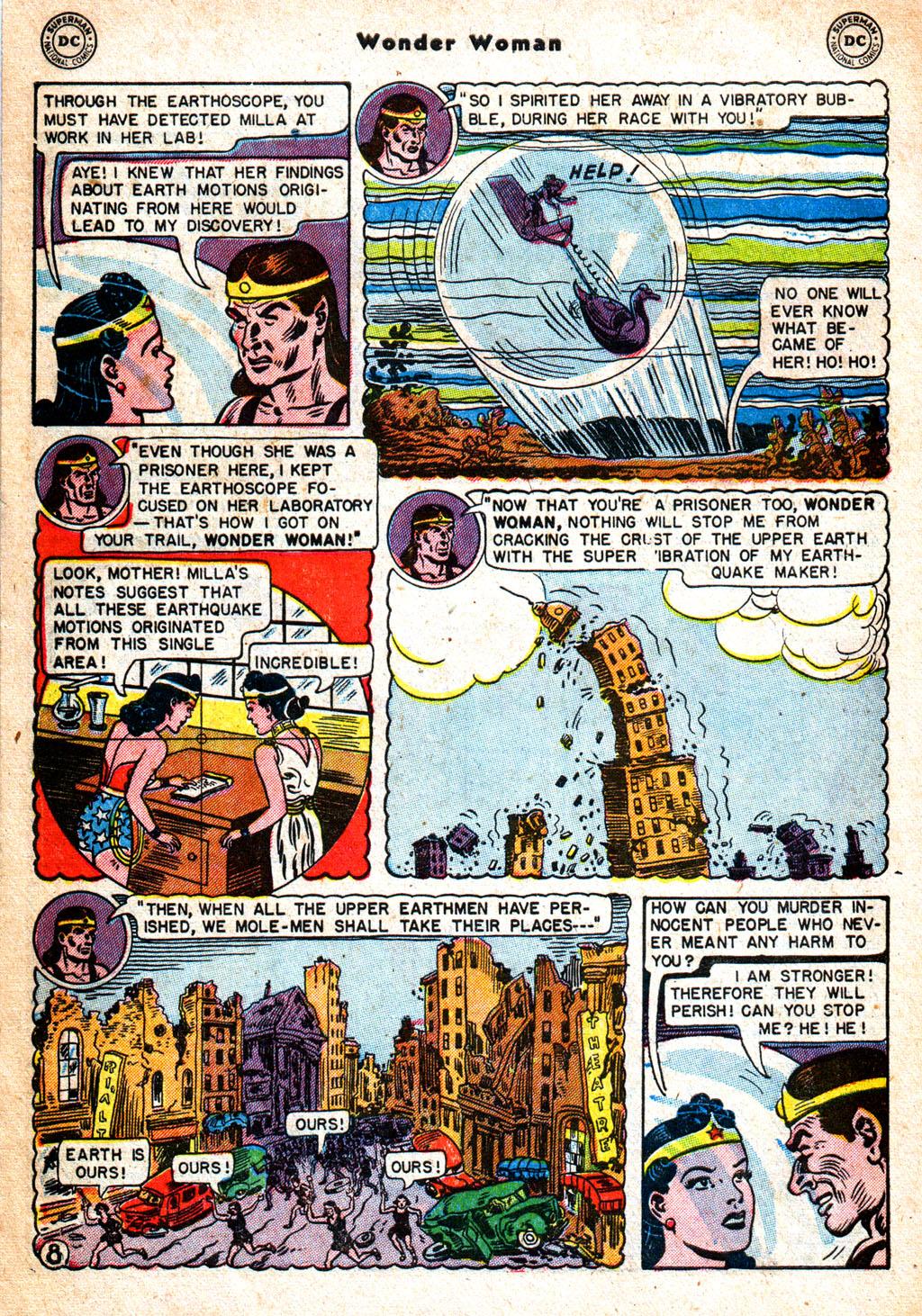 Read online Wonder Woman (1942) comic -  Issue #57 - 9