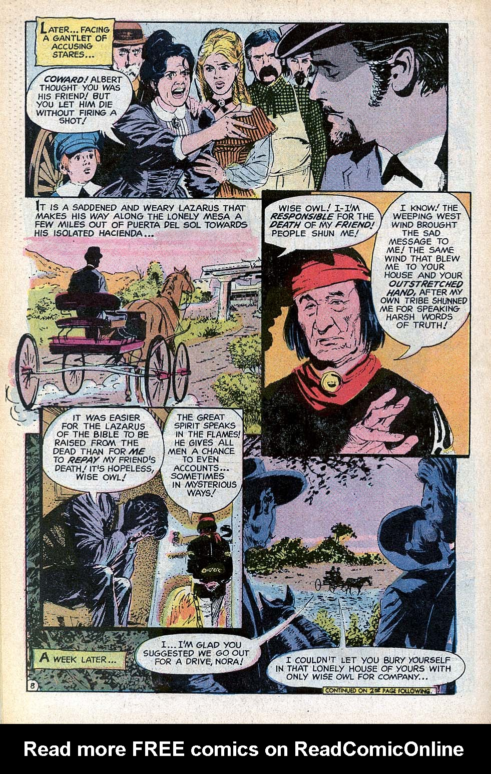Read online All-Star Western (1970) comic -  Issue #3 - 18