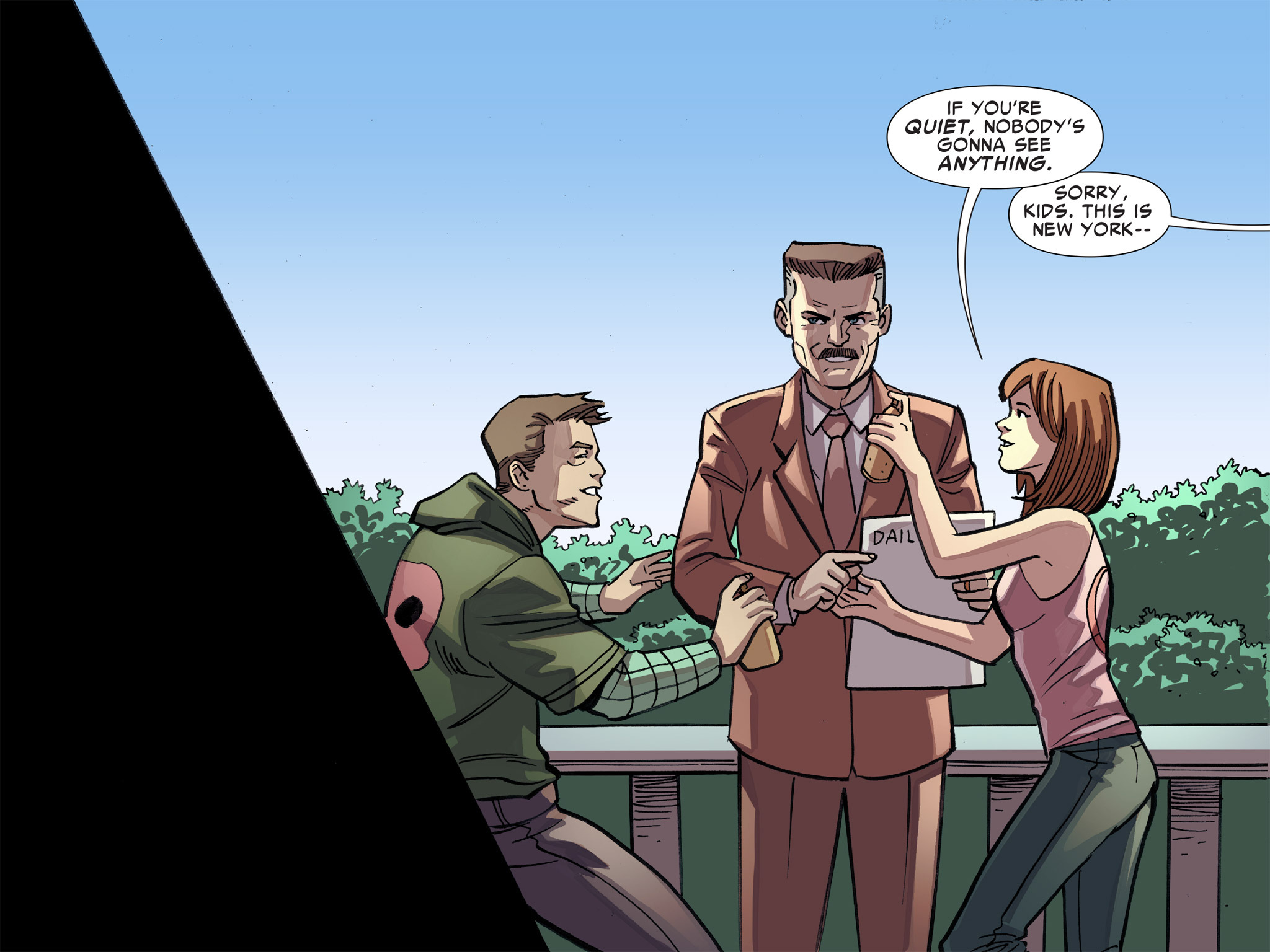Read online Ultimate Spider-Man (Infinite Comics) (2016) comic -  Issue #8 - 41
