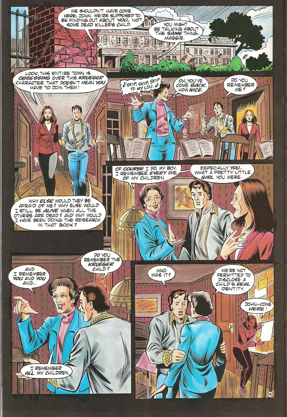 Read online Freddy's Dead: The Final Nightmare comic -  Issue #2 - 16