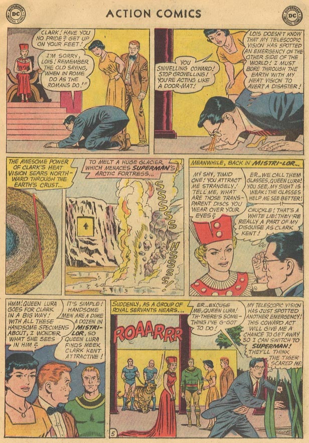 Read online Action Comics (1938) comic -  Issue #298 - 7