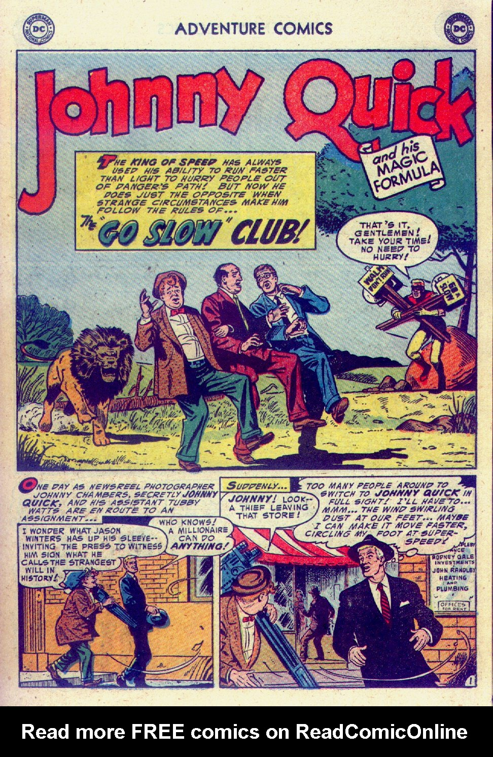 Read online Adventure Comics (1938) comic -  Issue #201 - 25