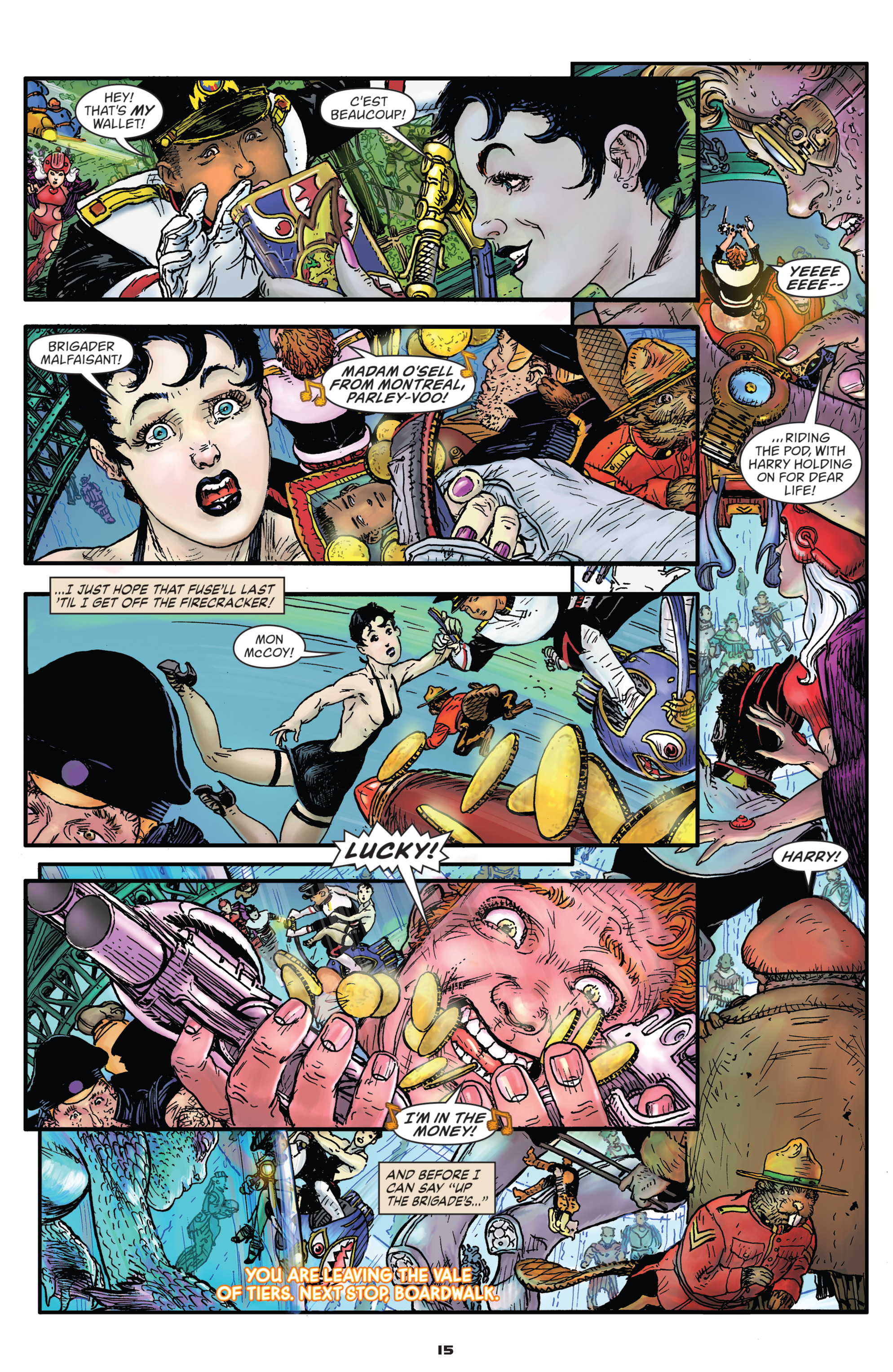 Read online Starstruck: Old Proldiers Never Die comic -  Issue #5 - 16