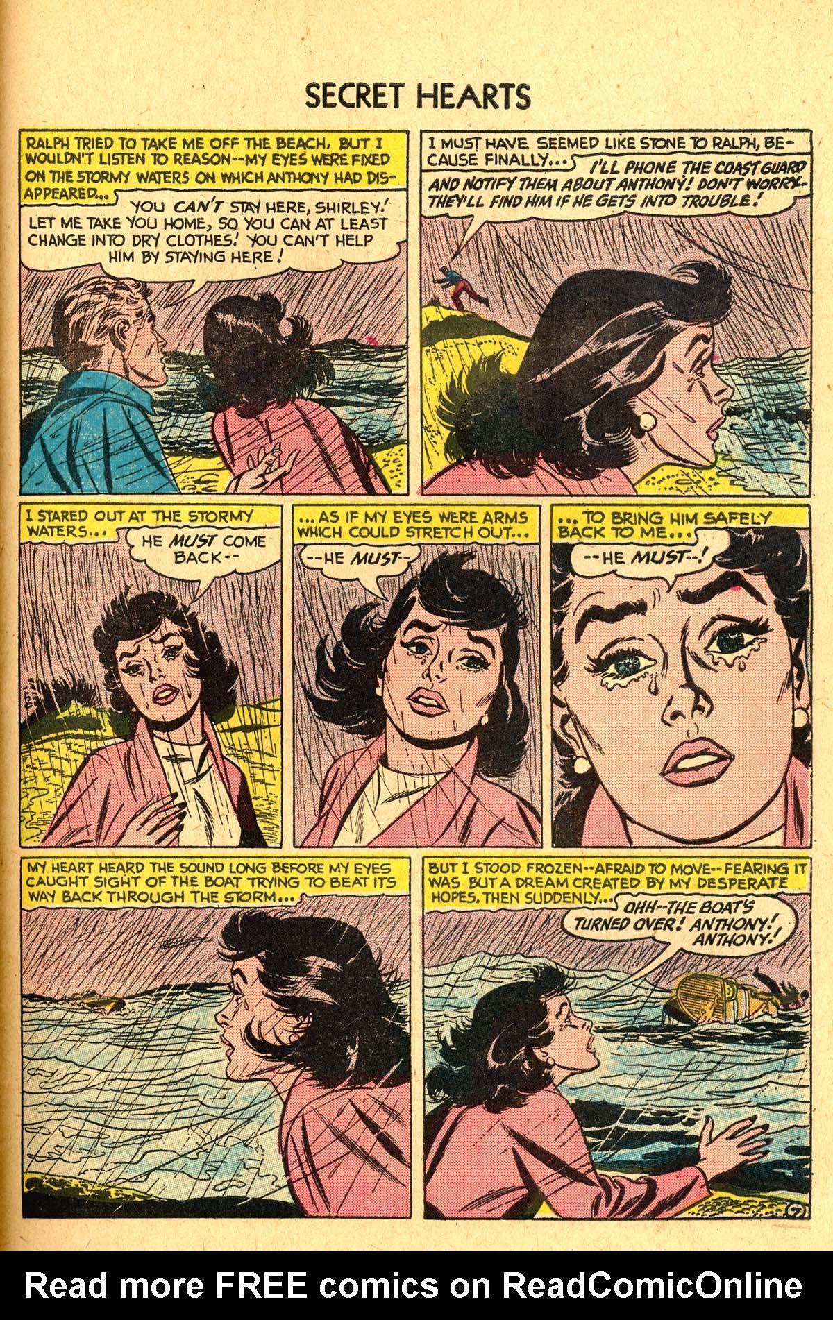 Read online Secret Hearts comic -  Issue #40 - 33