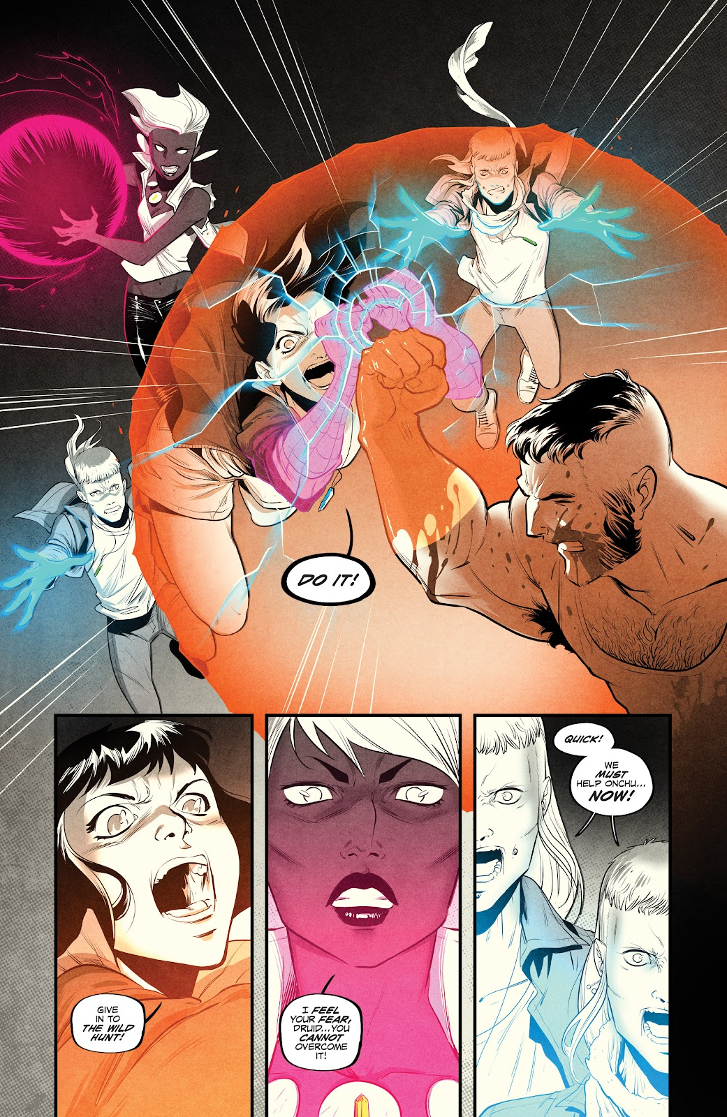 Read online Nomen Omen comic -  Issue #3 - 3