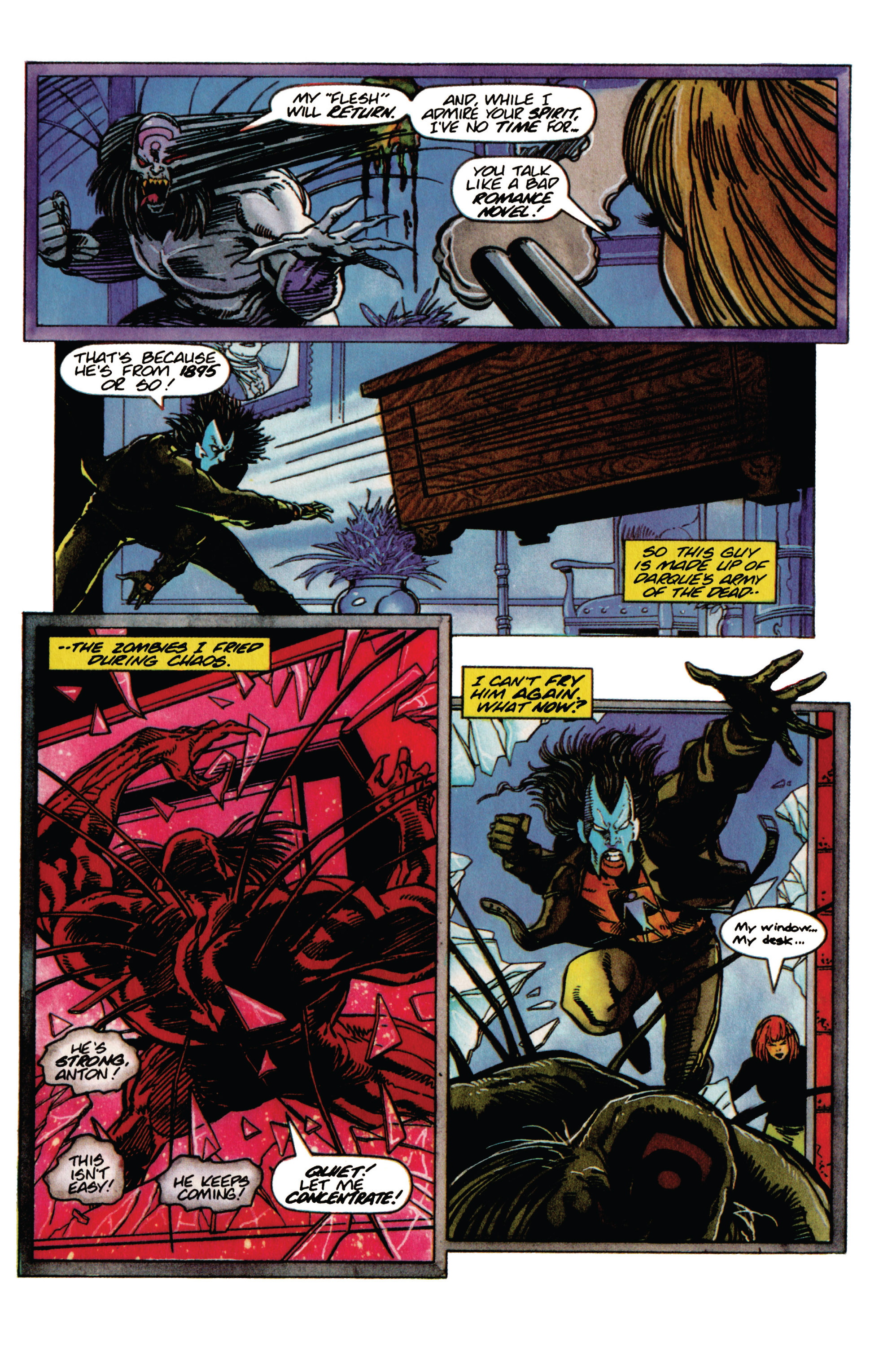 Read online Shadowman (1992) comic -  Issue #31 - 18