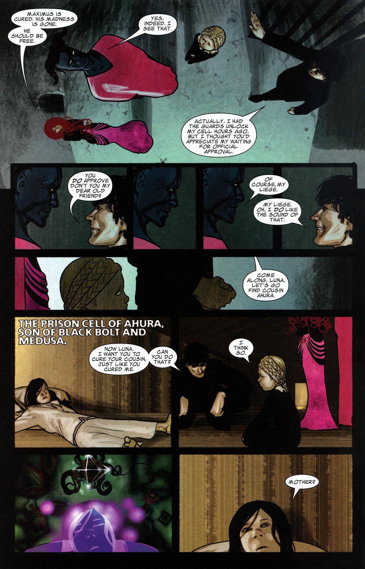 Read online Silent War comic -  Issue #6 - 9