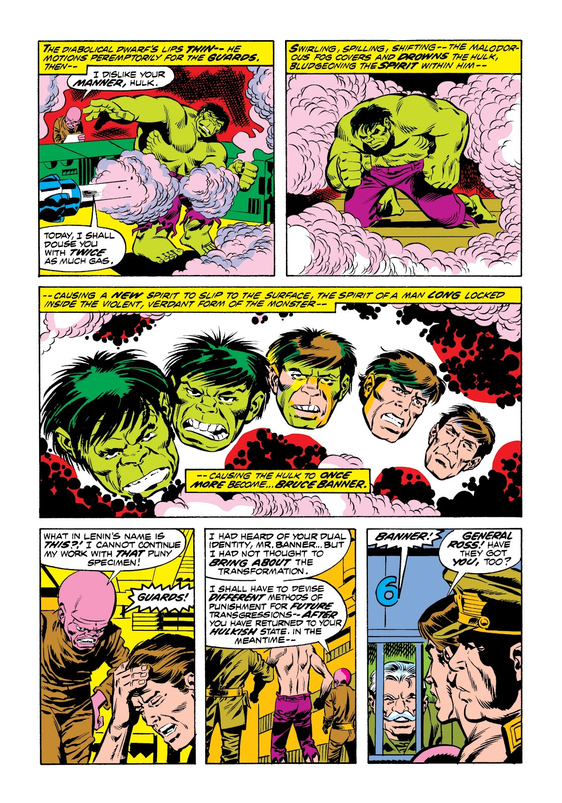 Read online Marvel Masterworks: The Incredible Hulk comic -  Issue # TPB 9 (Part 2) - 50
