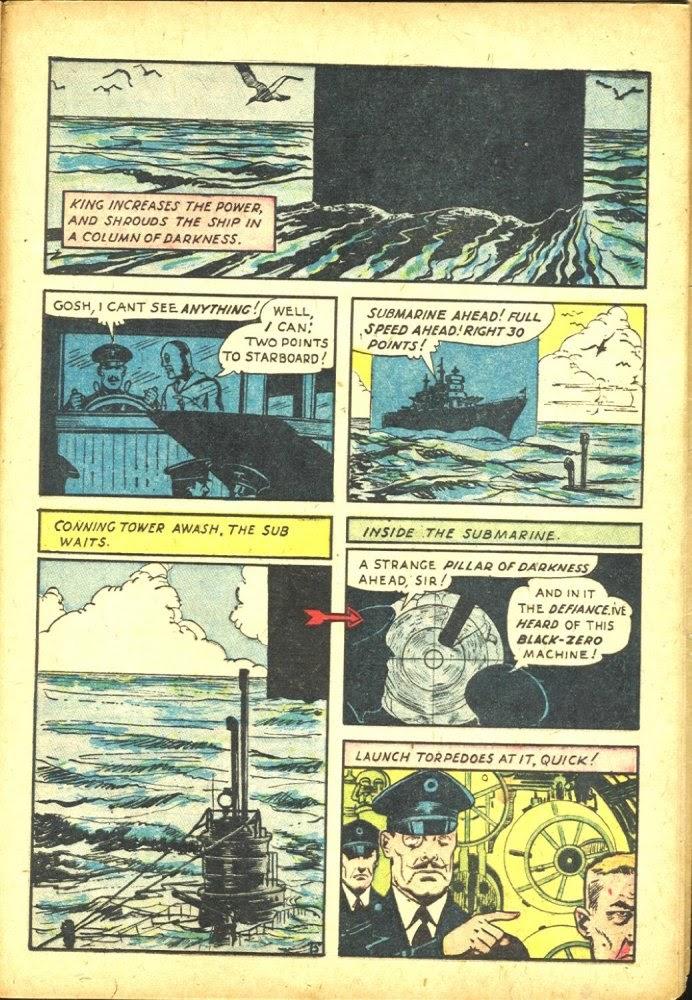 Read online Amazing Man Comics comic -  Issue #25 - 49