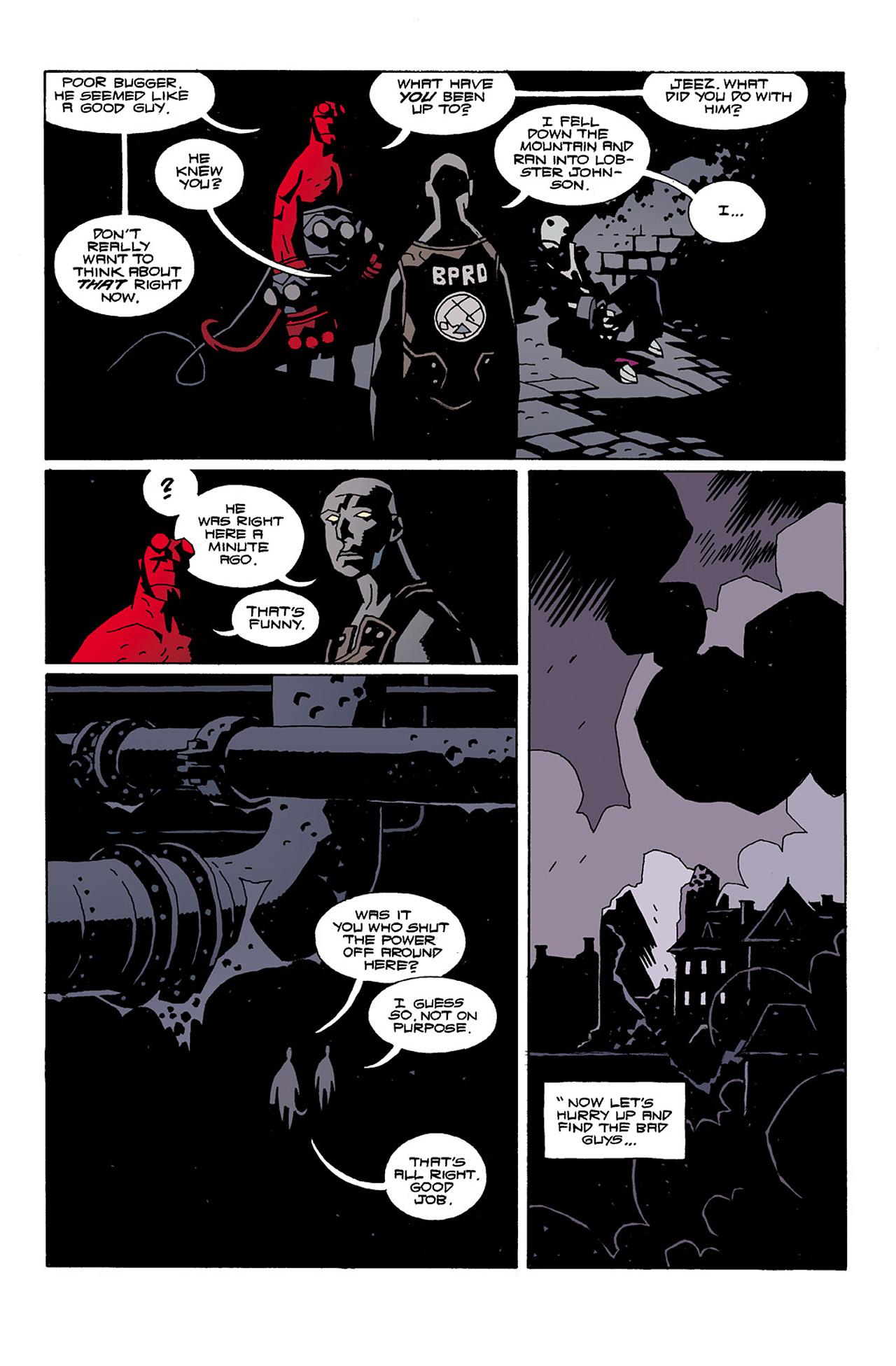 Read online Hellboy: Conqueror Worm comic -  Issue #2 - 29