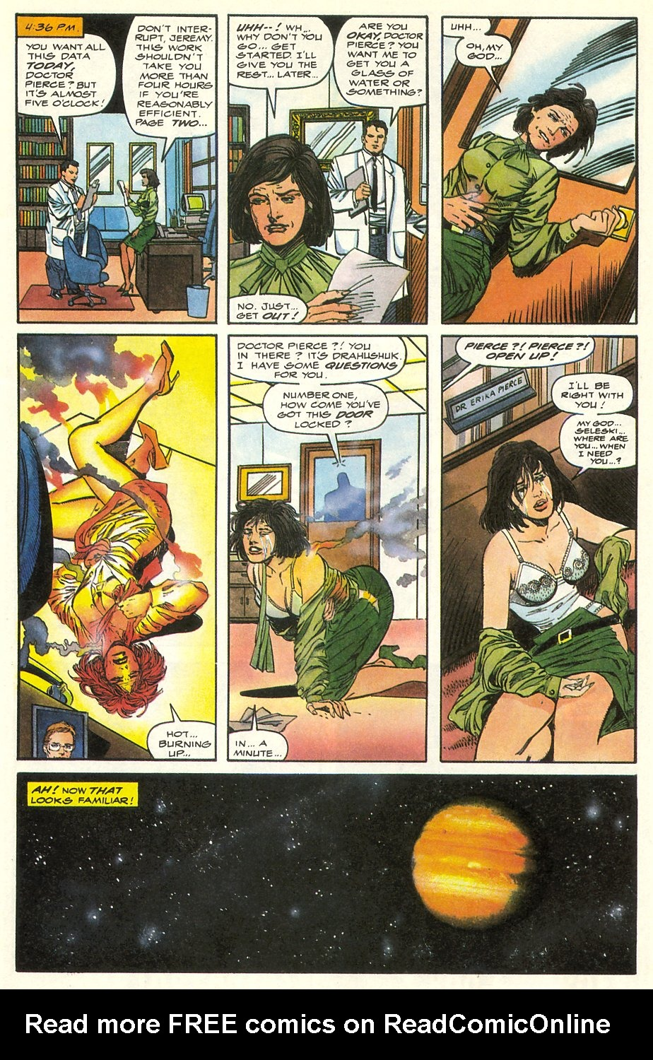 Read online Solar, Man of the Atom comic -  Issue #8 - 9