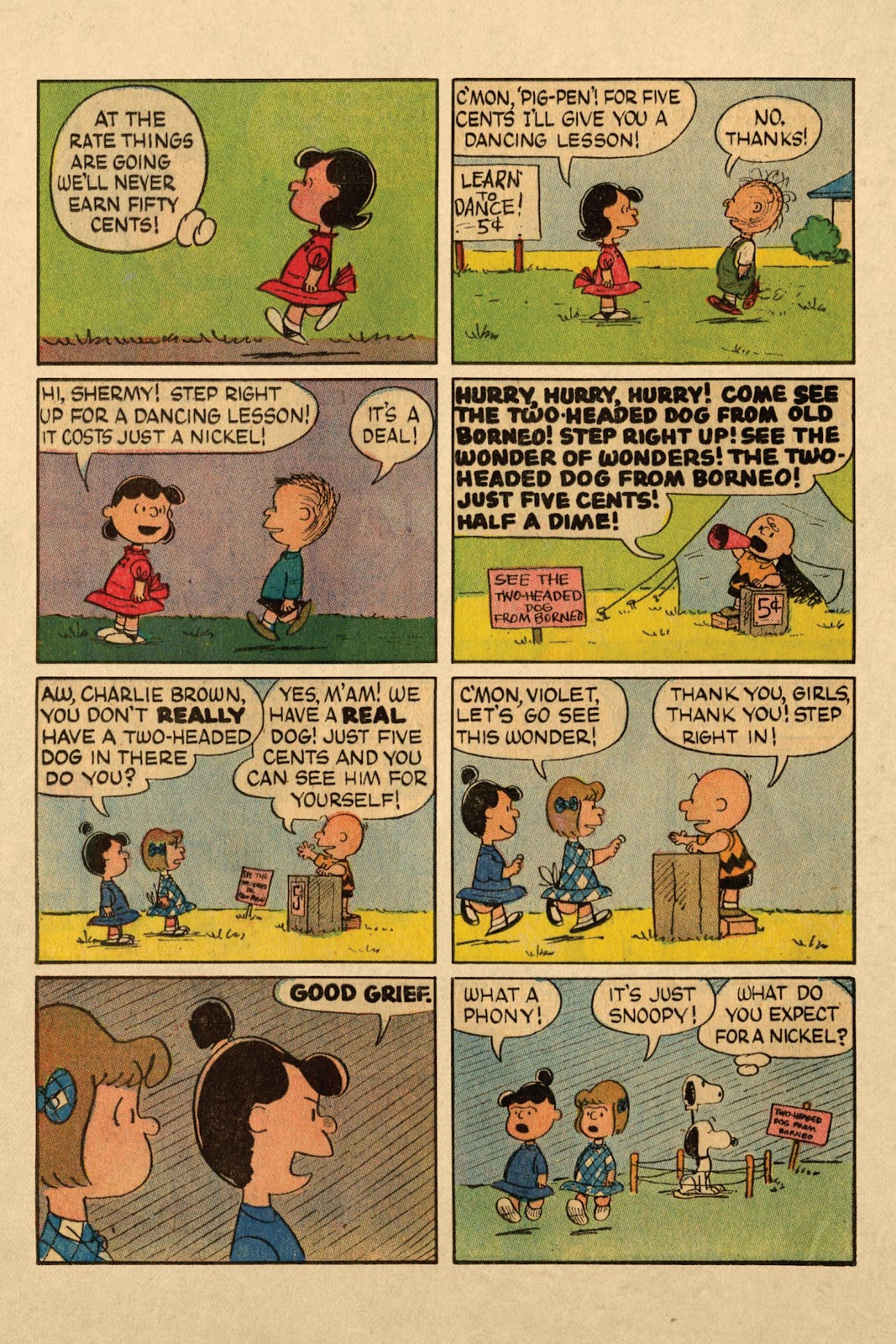 Read online Peanuts Dell Archive comic - Issue # TPB (Part 3)