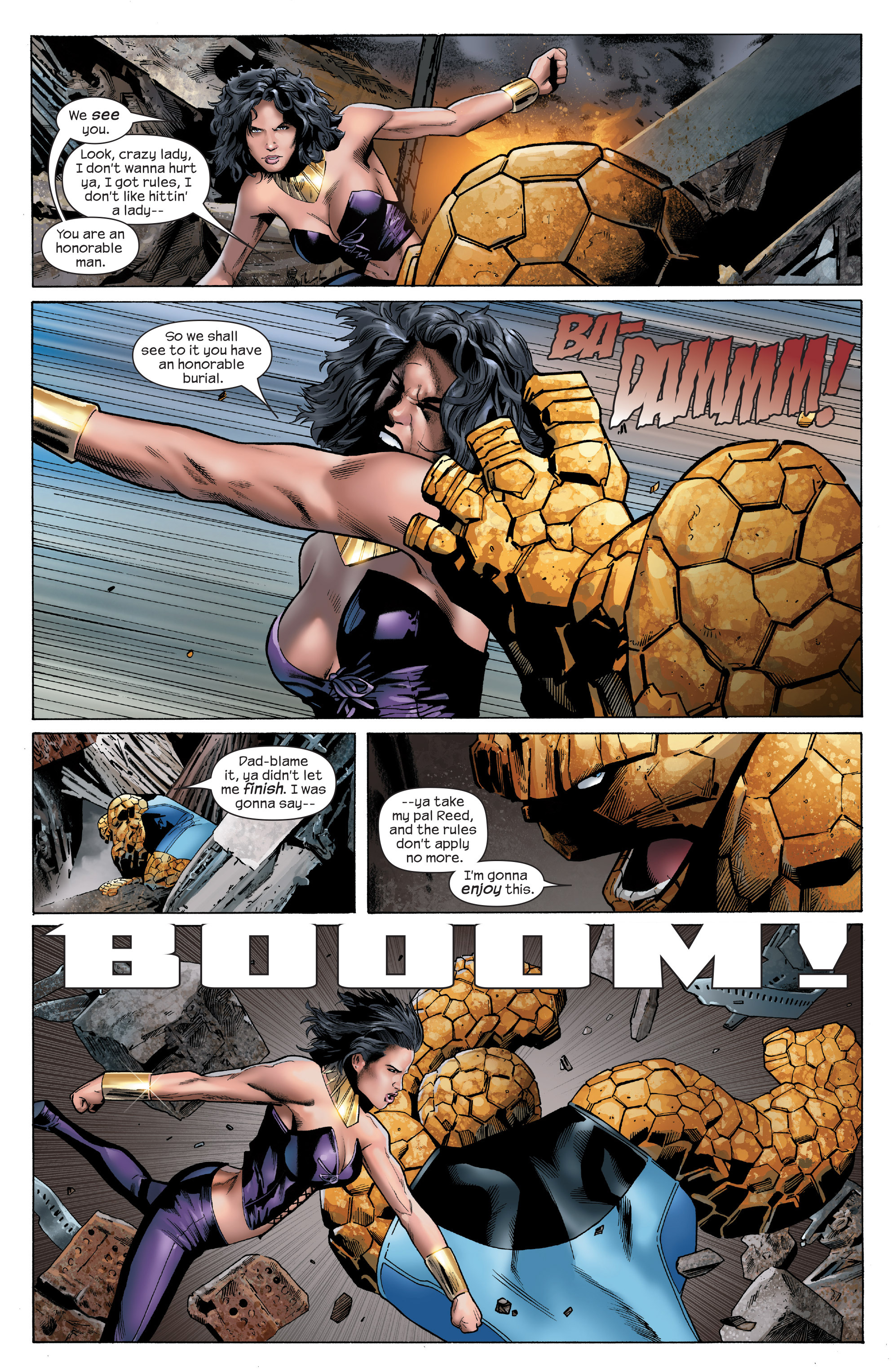 Read online Ultimate Power comic -  Issue #6 - 7