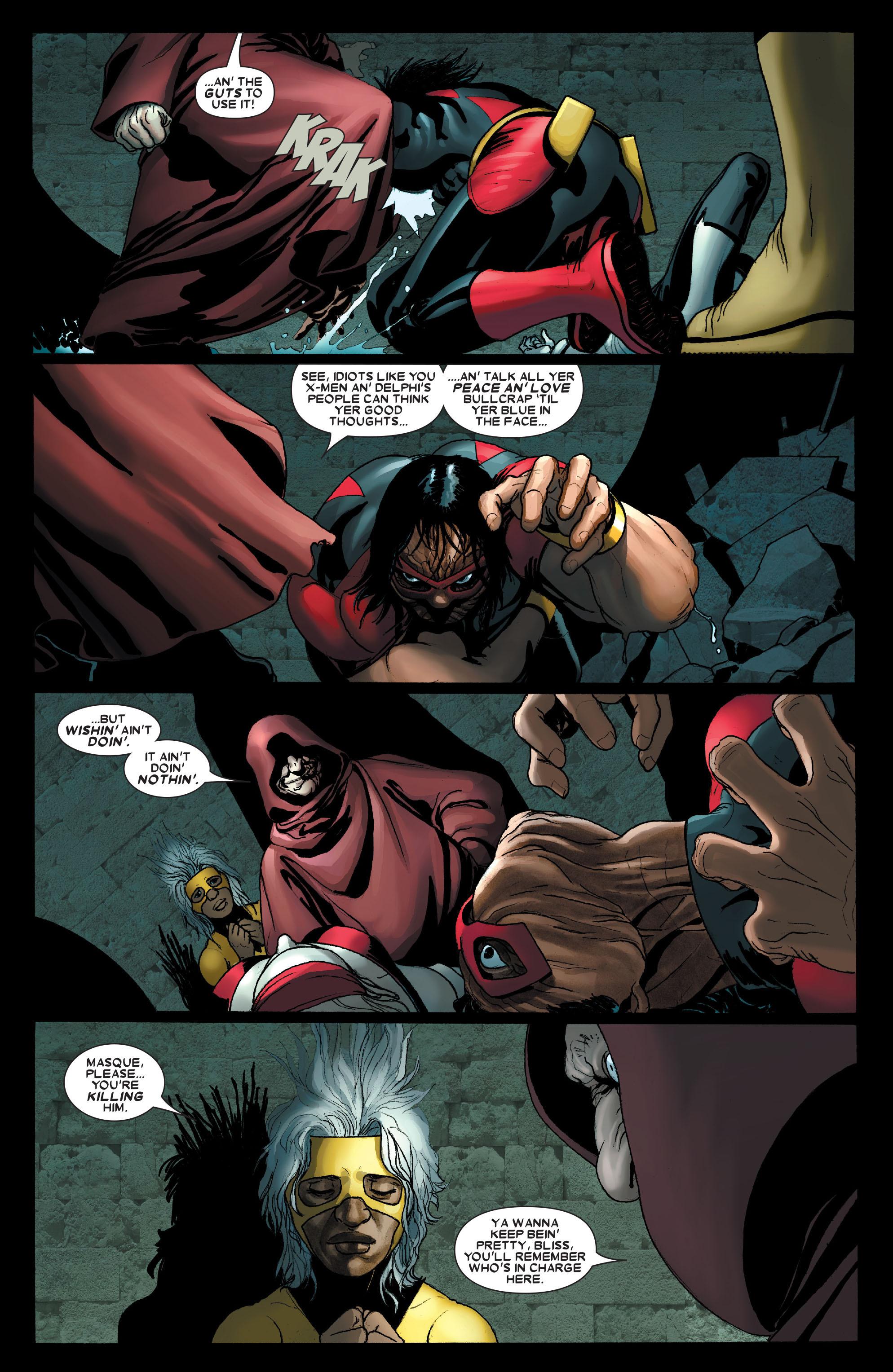 Read online Uncanny X-Men (1963) comic -  Issue #490 - 18