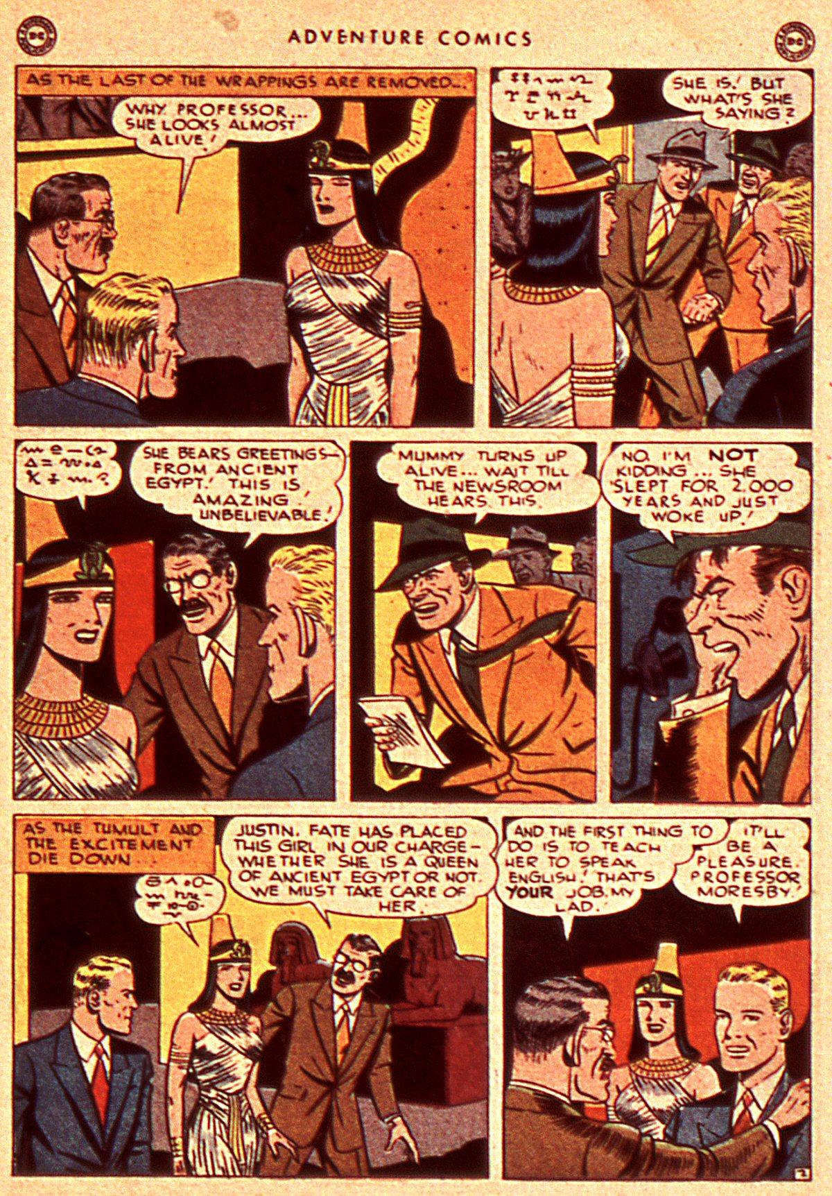 Read online Adventure Comics (1938) comic -  Issue #106 - 33